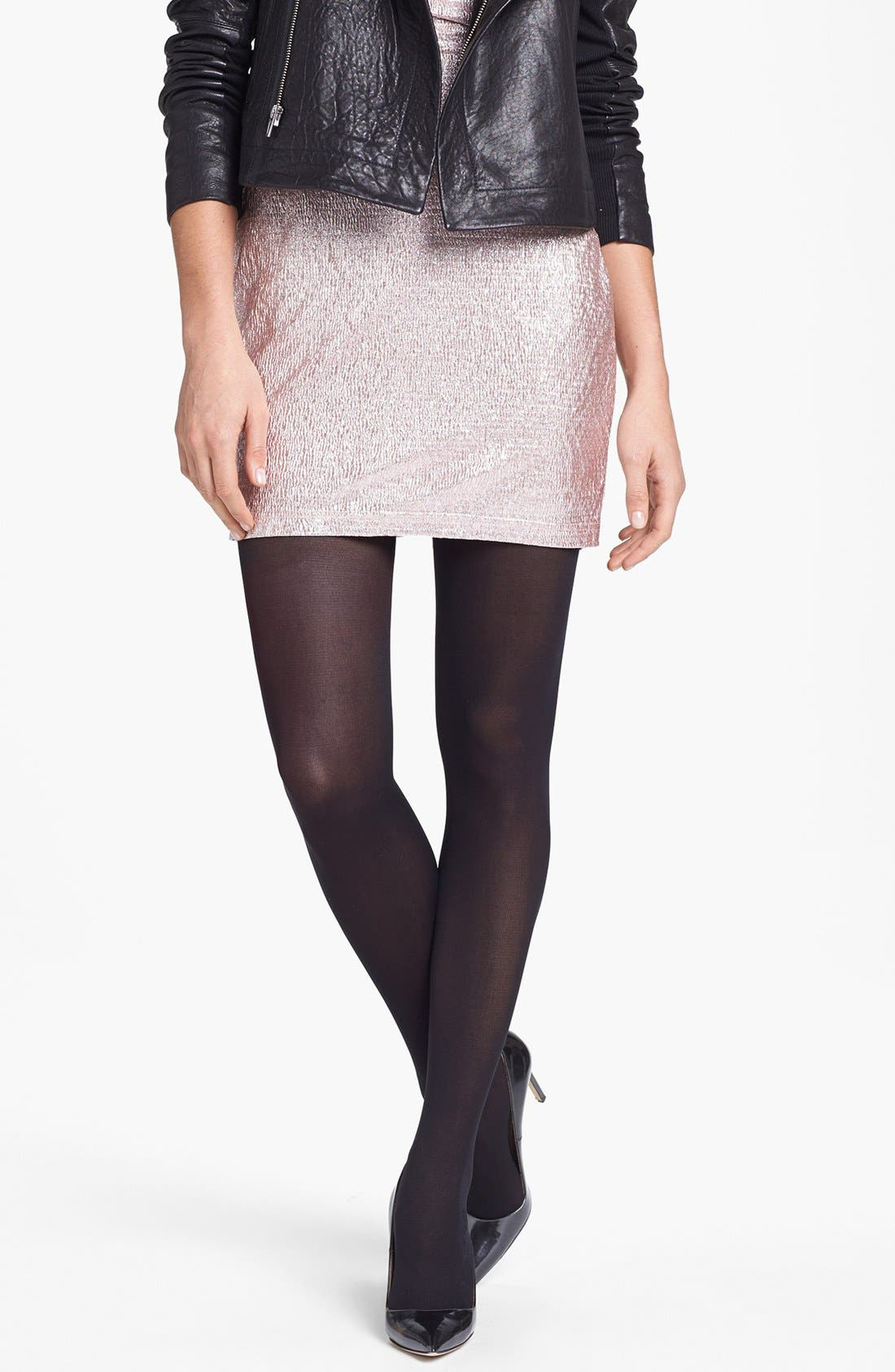 Alternate Image 2  - Pretty Polly Embellished Back Seam Tights