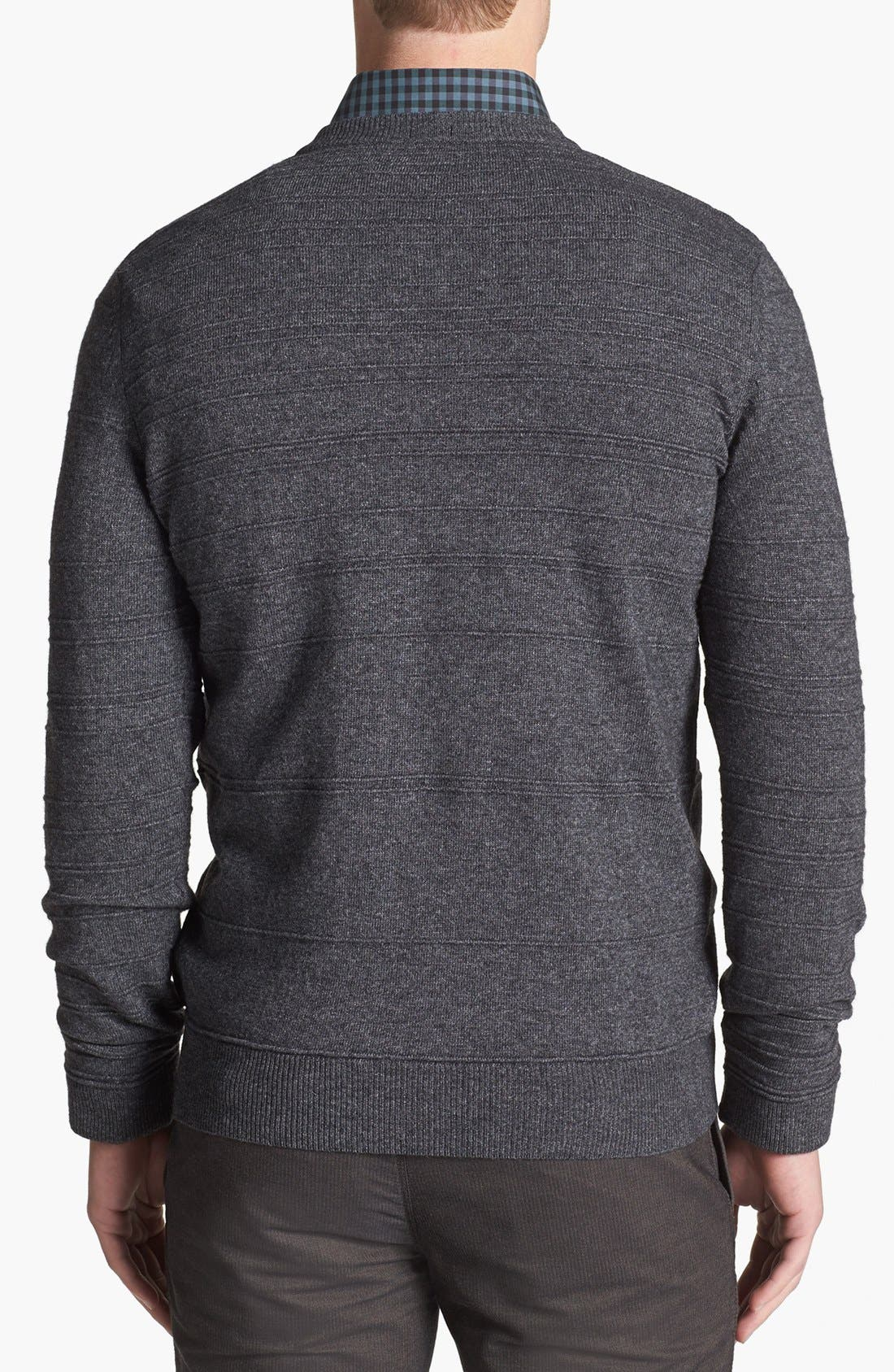 Alternate Image 2  - BOSS HUGO BOSS 'Murphy' Stripe Sweater