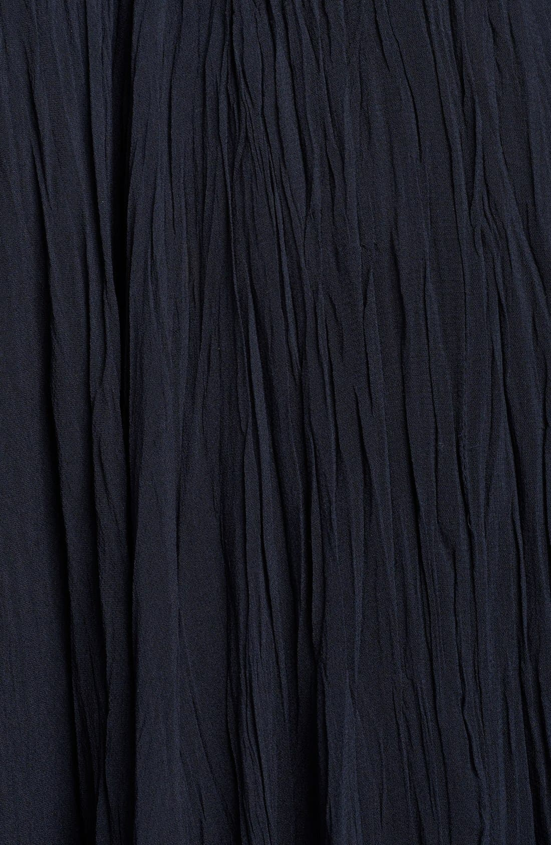 Alternate Image 3  - Donna Karan Casual Luxe Silk Georgette Midi Skirt