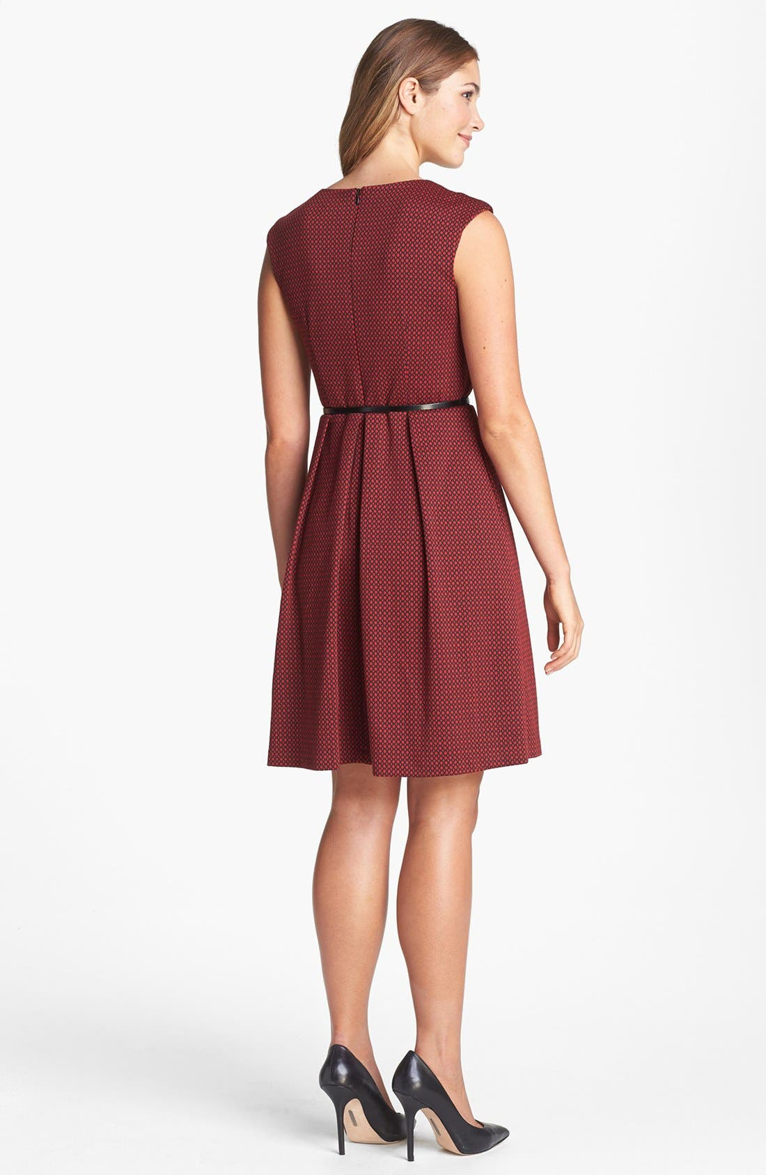 Alternate Image 2  - Maggy London Patterned Fit & Flare Dress