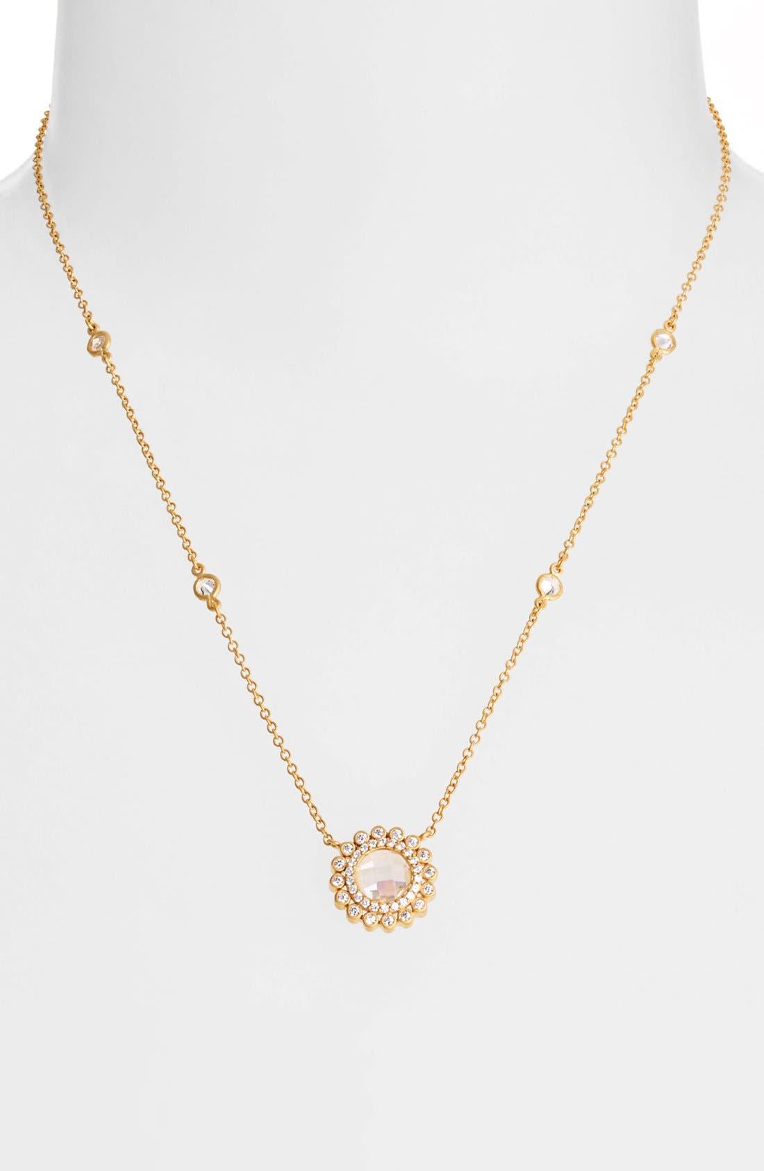 Alternate Image 1 Selected - FREIDA ROTHMAN 'Hamptons' Wildflower Pendant Necklace
