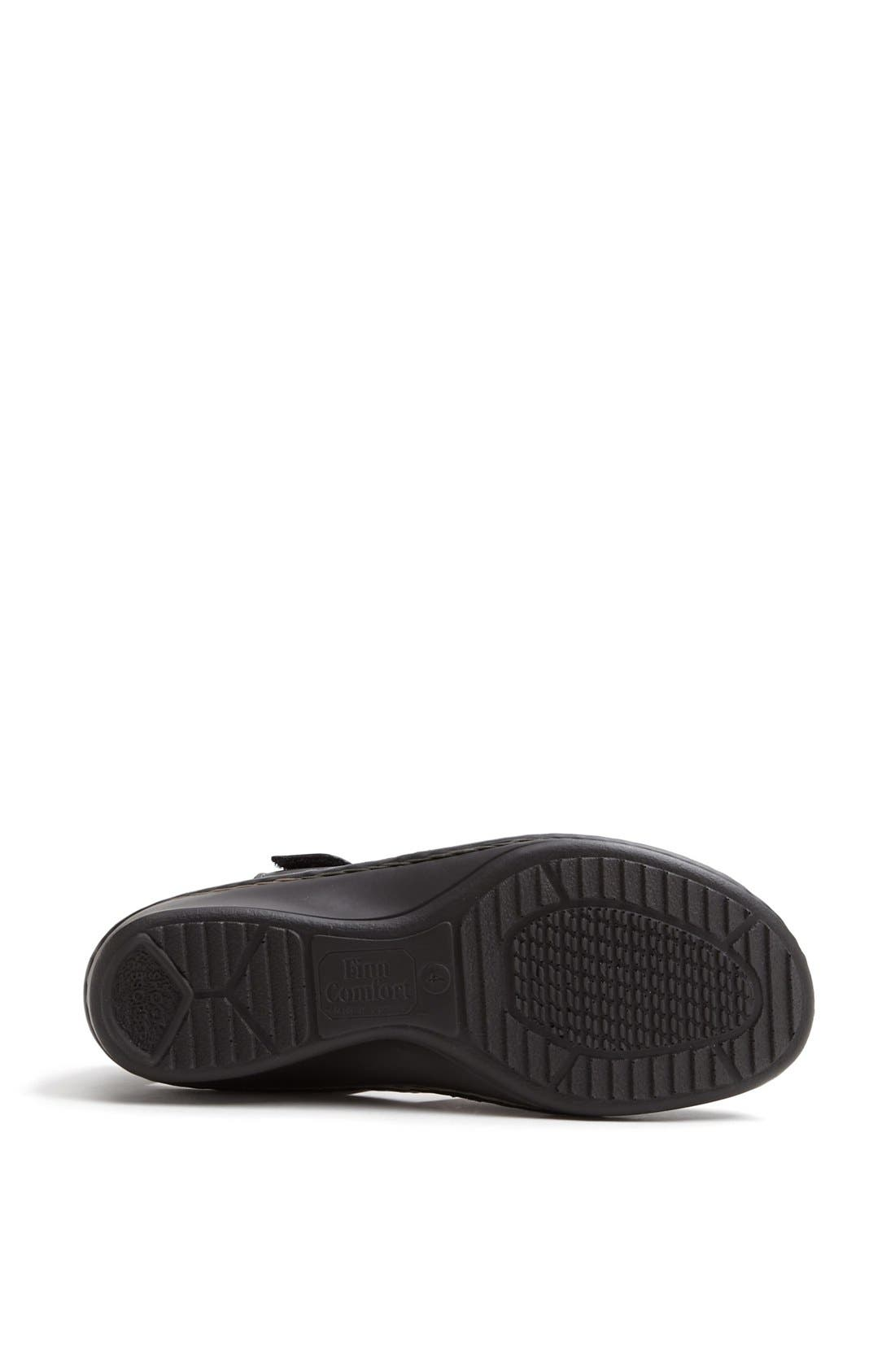'Funnen' Sandal,                             Alternate thumbnail 4, color,                             Black