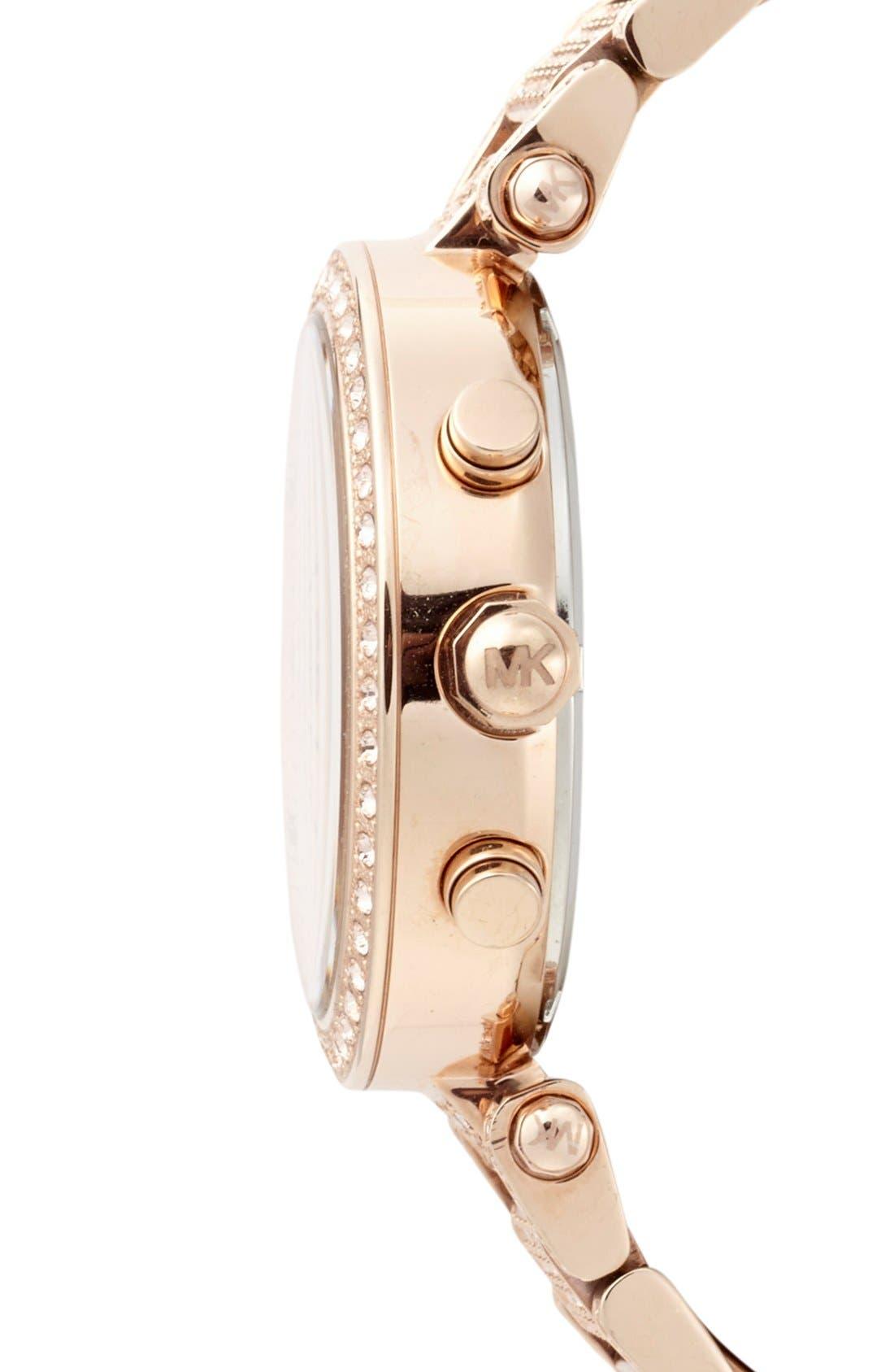 Alternate Image 3  - Michael Kors 'Parker' Chronograph Bracelet Watch, 39mm