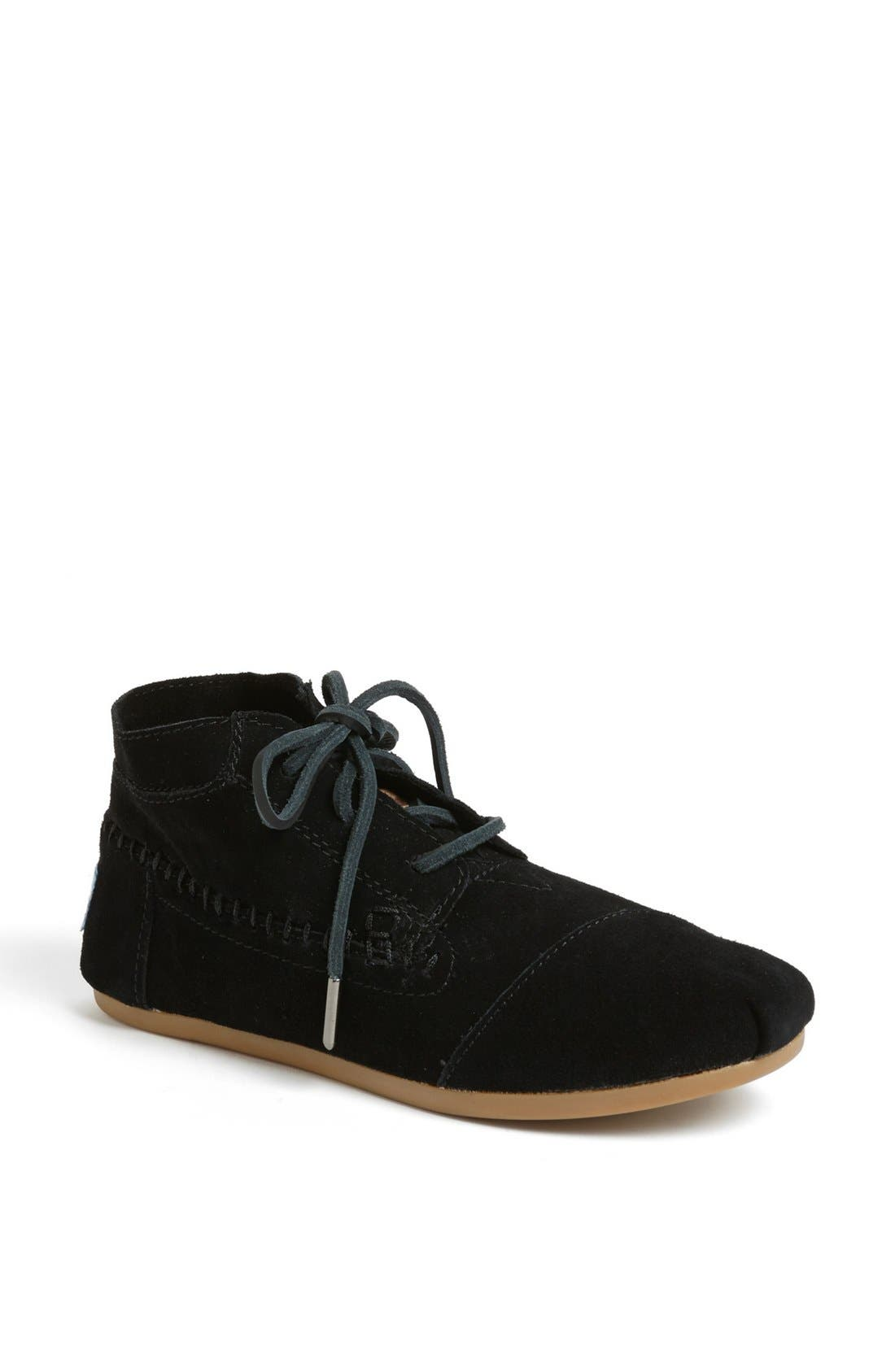 Alternate Image 1 Selected - TOMS Suede Boot (Women)