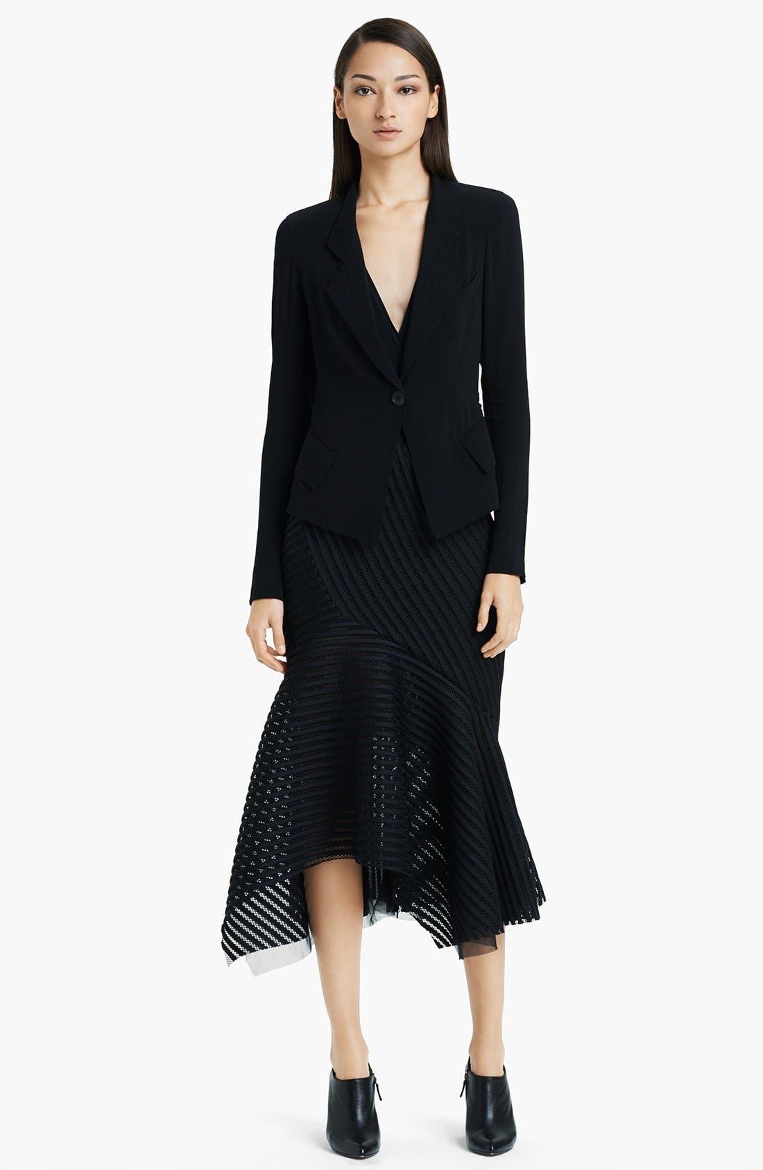 Alternate Image 3  - Donna Karan Collection Stretch Crepe Georgette Jacket