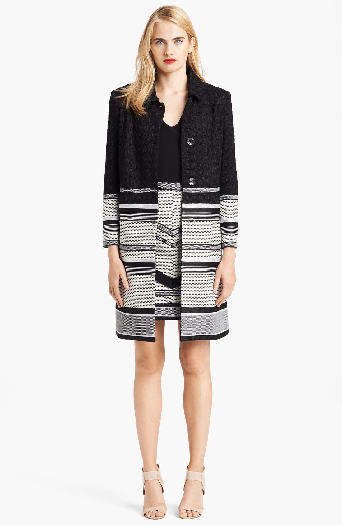 Alternate Image 4  - Missoni Long Intarsia Knit Jacquard Coat