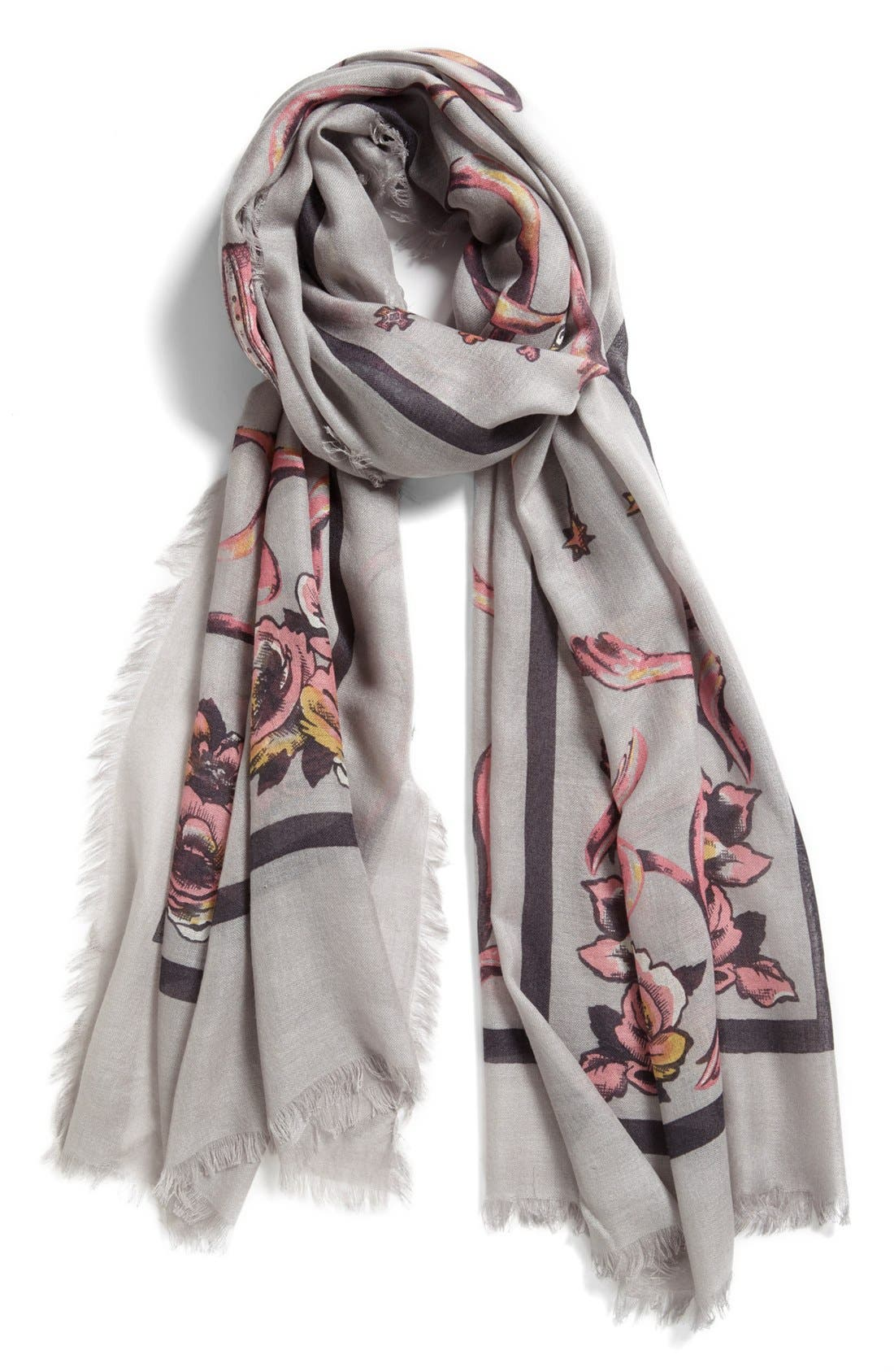 Main Image - Nordstrom 'Regal' Cashmere & Silk Scarf