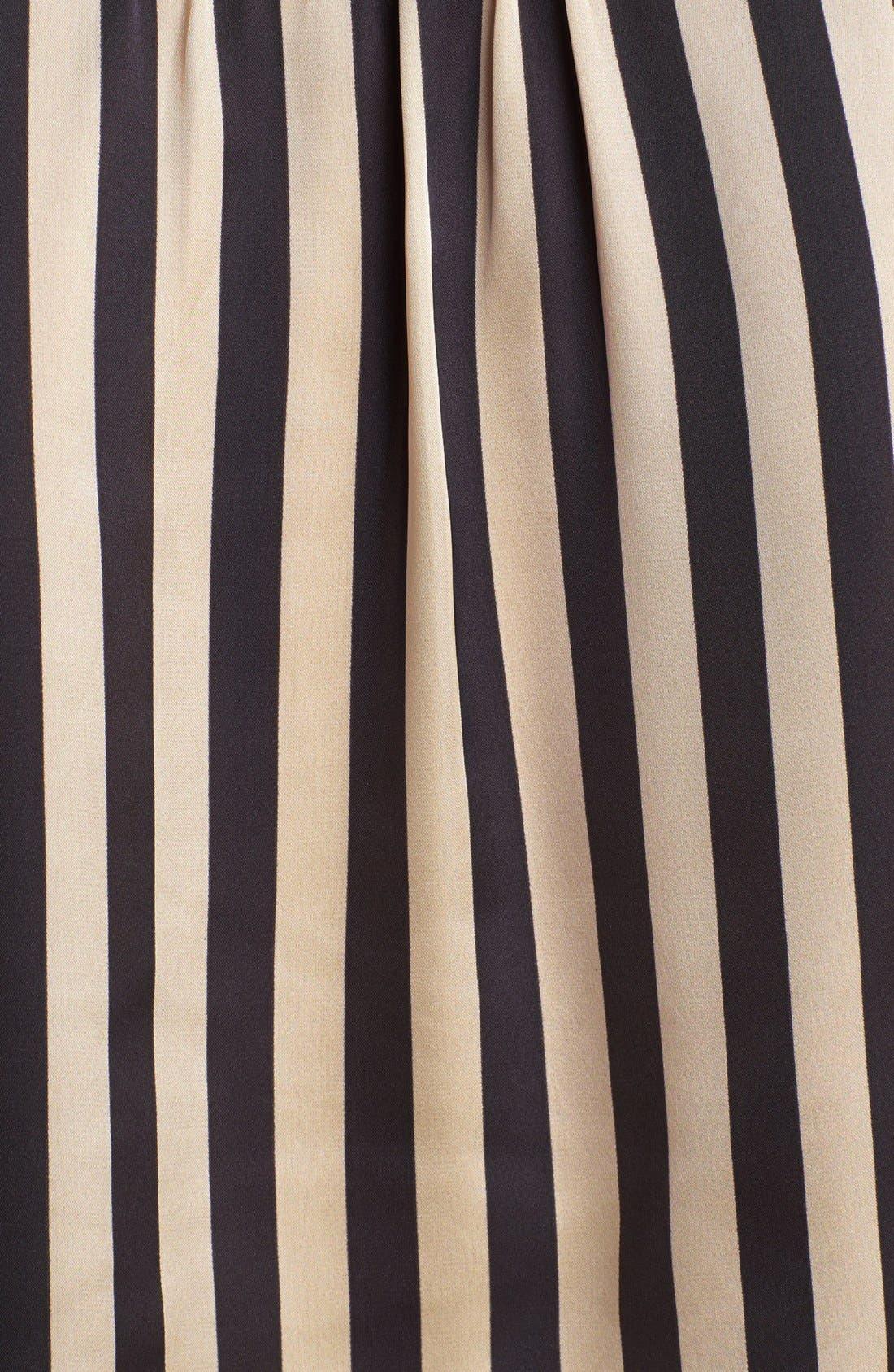 Alternate Image 3  - Vince Camuto Faux Wrap Stripe Blouse