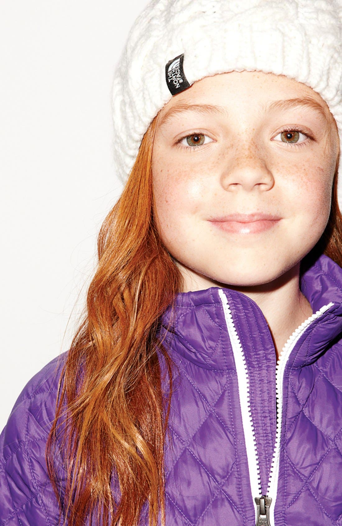 Alternate Image 2  - The North Face 'Cable Fish' Beanie (Girls)