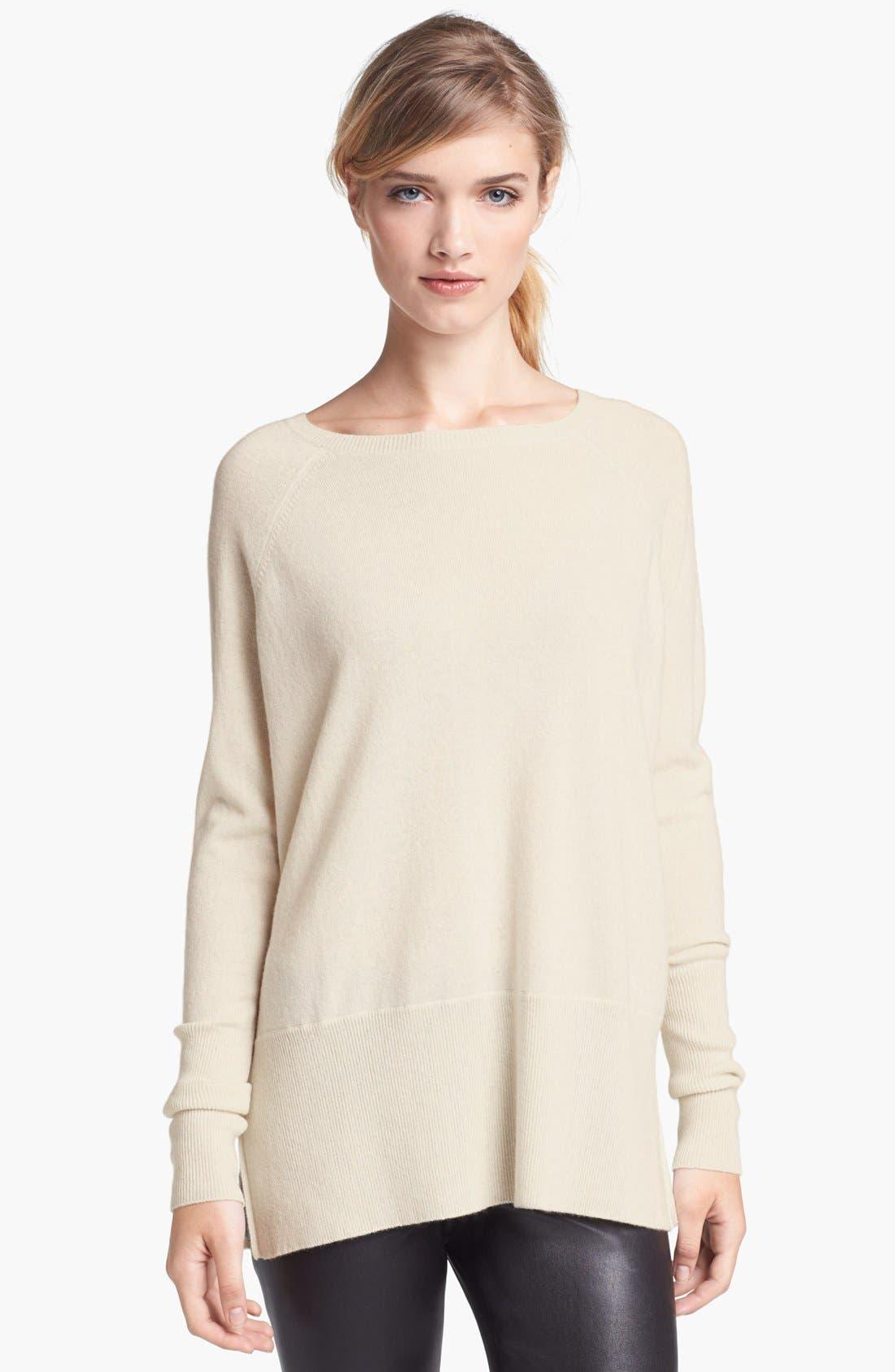Alternate Image 1 Selected - Vince 'Square' Raglan Cashmere Sweater