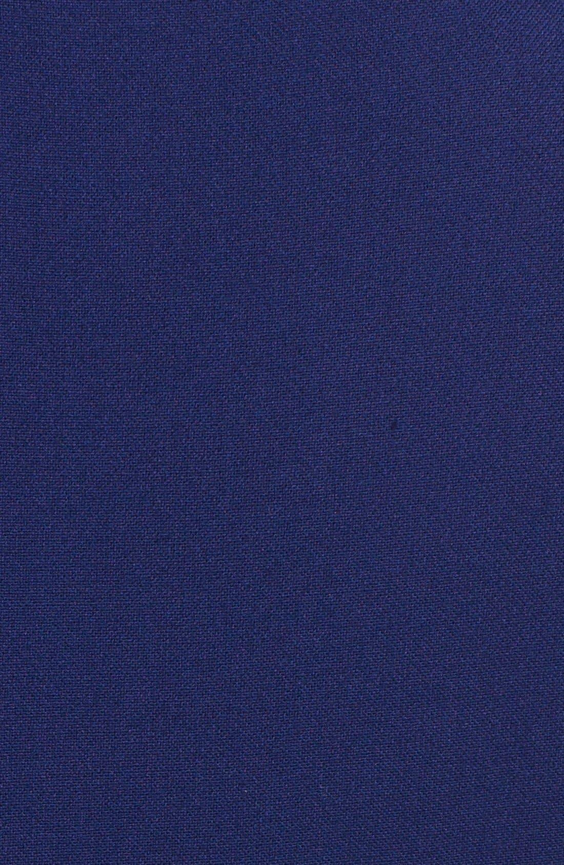 Alternate Image 3  - BCBGMAXAZRIA 'Hannah' Colorblock Fit & Flare Dress