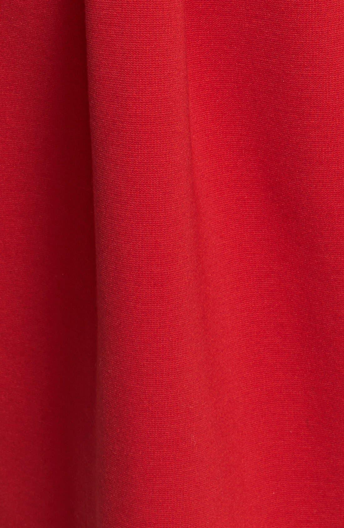 Alternate Image 3  - Betsey Johnson Bow Detail Ponte Fit & Flare Dress