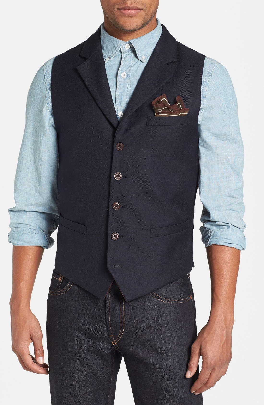 Alternate Image 1 Selected - Scotch & Soda Cotton Vest