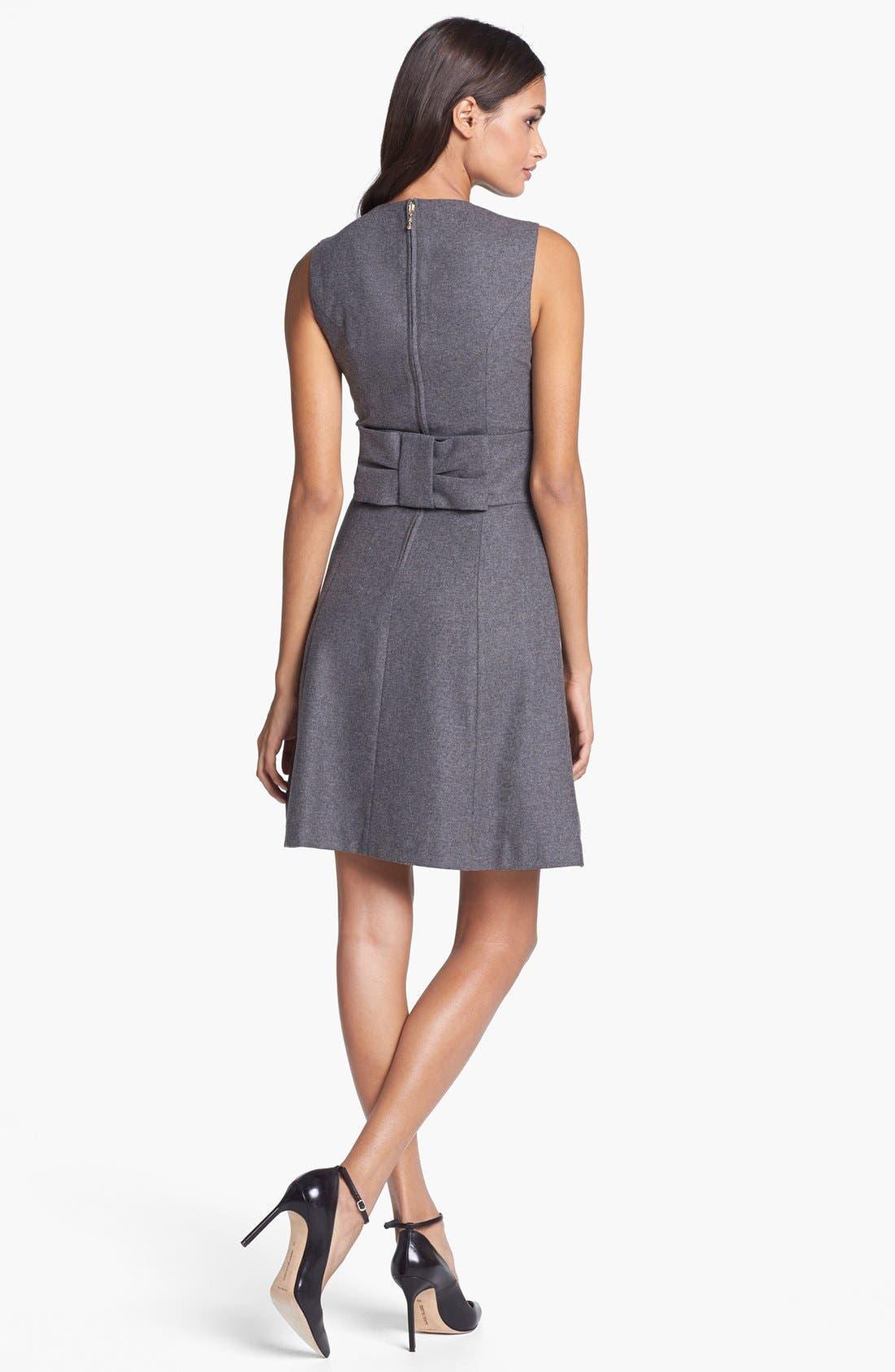 Alternate Image 2  - kate spade new york 'marti' wool blend a-line dress
