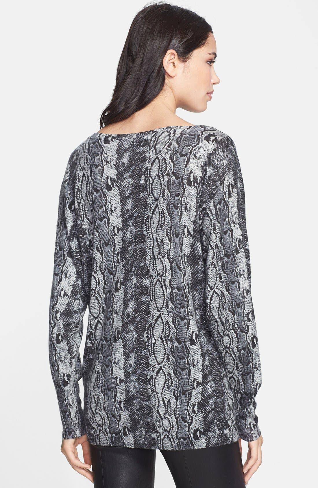 Alternate Image 2  - Joie 'Cienna' Print Sweater