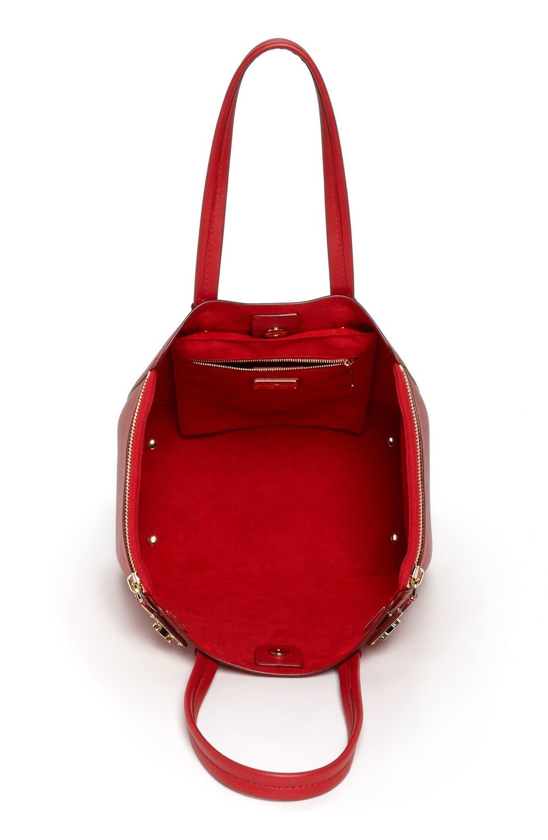Alternate Image 3  - Salvatore Ferragamo 'Medium Verve' Leather Satchel