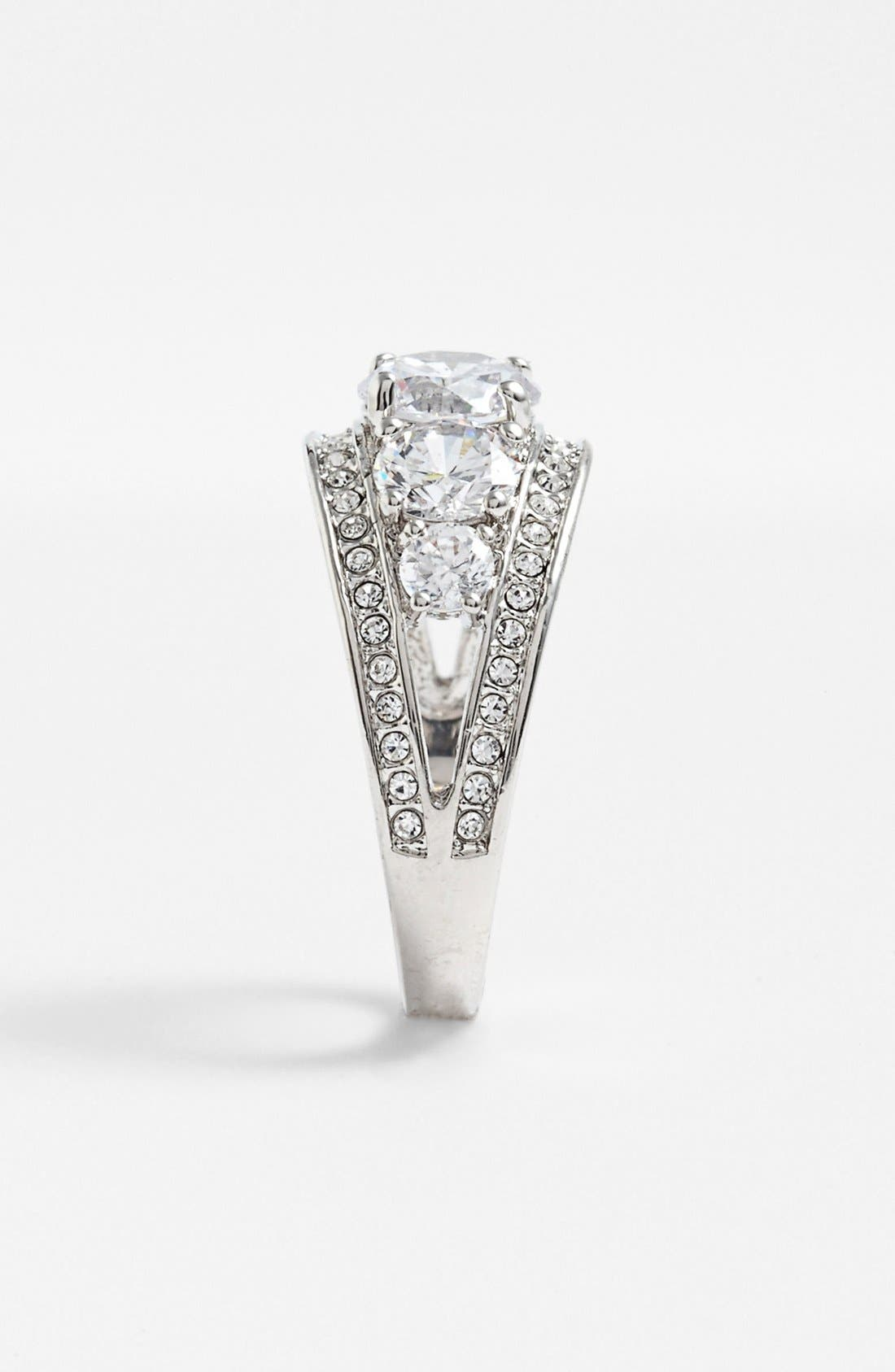 Alternate Image 2  - Ariella Collection Pavé Cocktail Ring