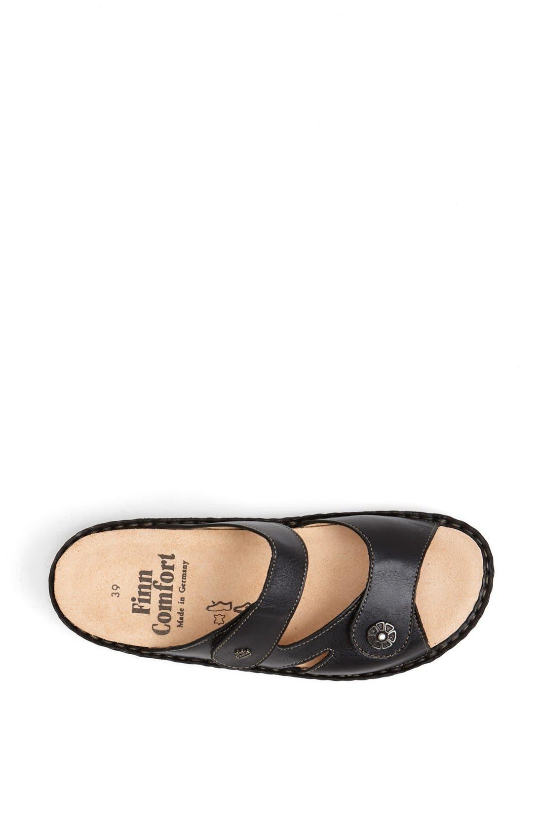 FINNAMIC by Finn Comfort 'Sanaa' Walking Sandal,                             Alternate thumbnail 3, color,                             Black