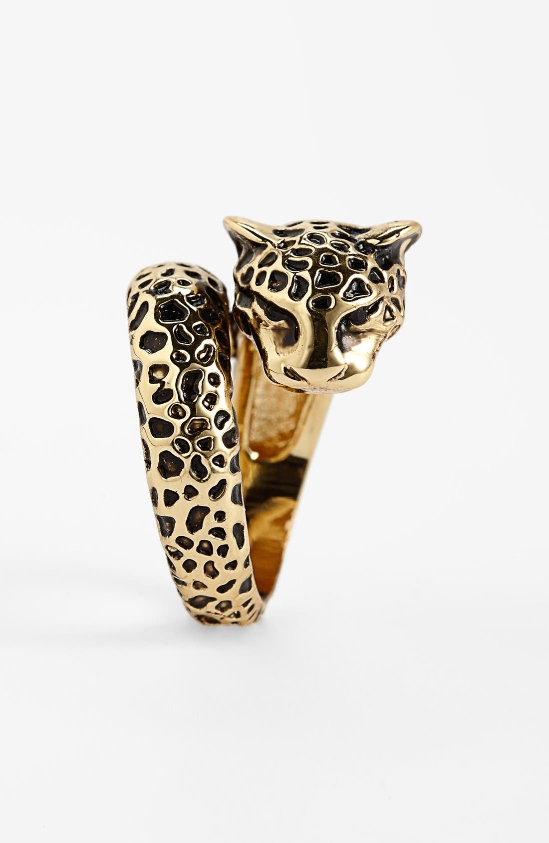 Alternate Image 2  - Ariella Collection 'Critters' Cheetah Ring (Nordstrom Exclusive)