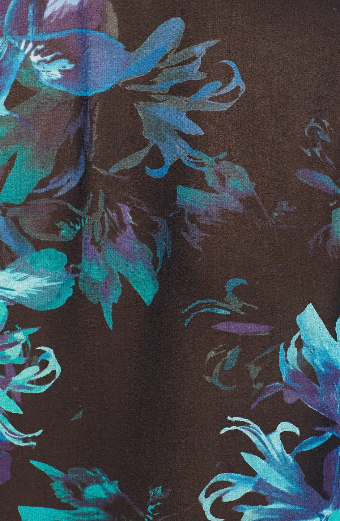 Alternate Image 3  - Vince Camuto Floral Print Wrap Blouse (Online Only)