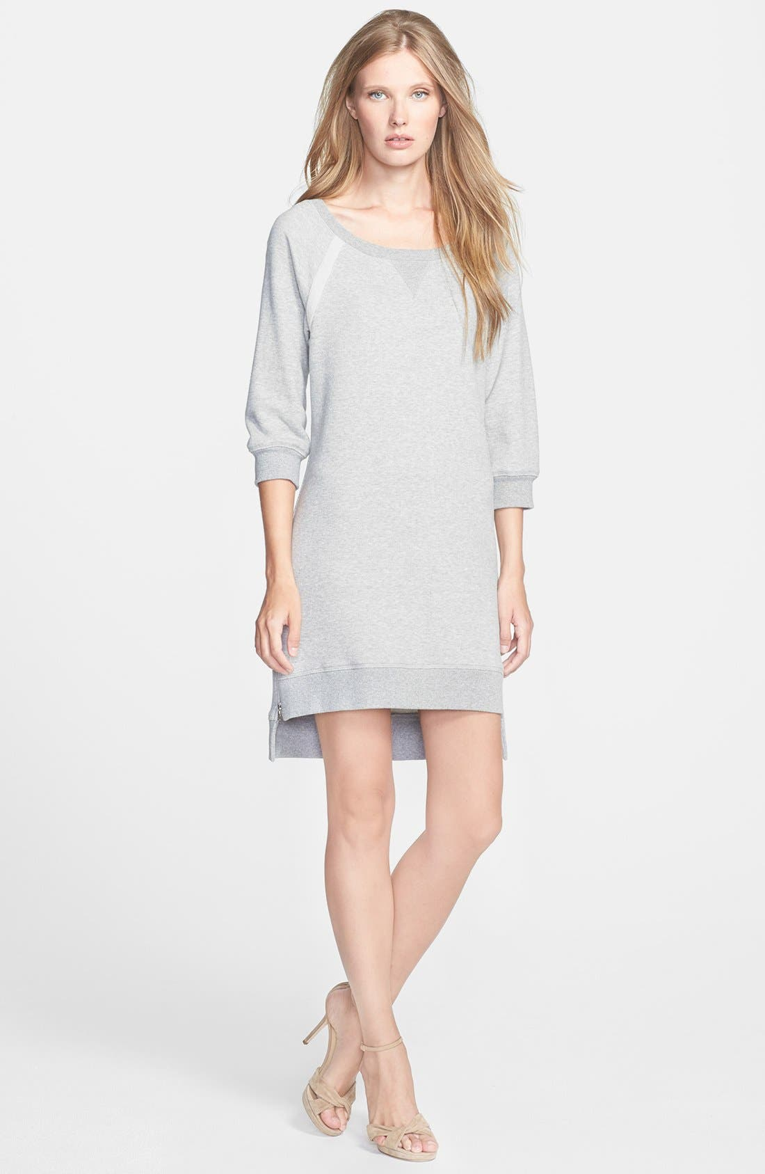 Main Image - Trina Turk 'Venecia' Terry Sweatshirt Dress