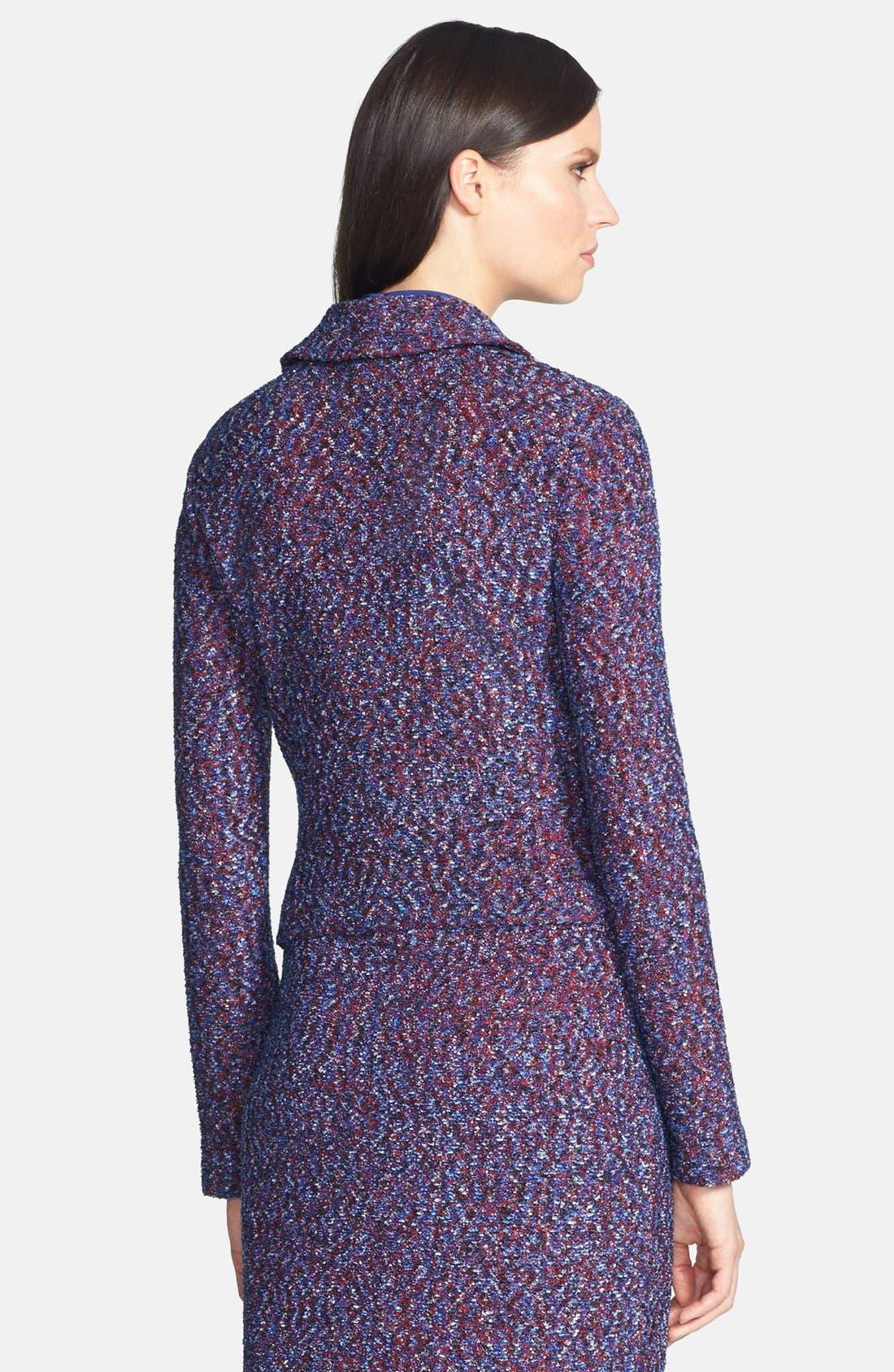 Alternate Image 2  - St. John Collection Looped Lash Tweed Knit Jacket