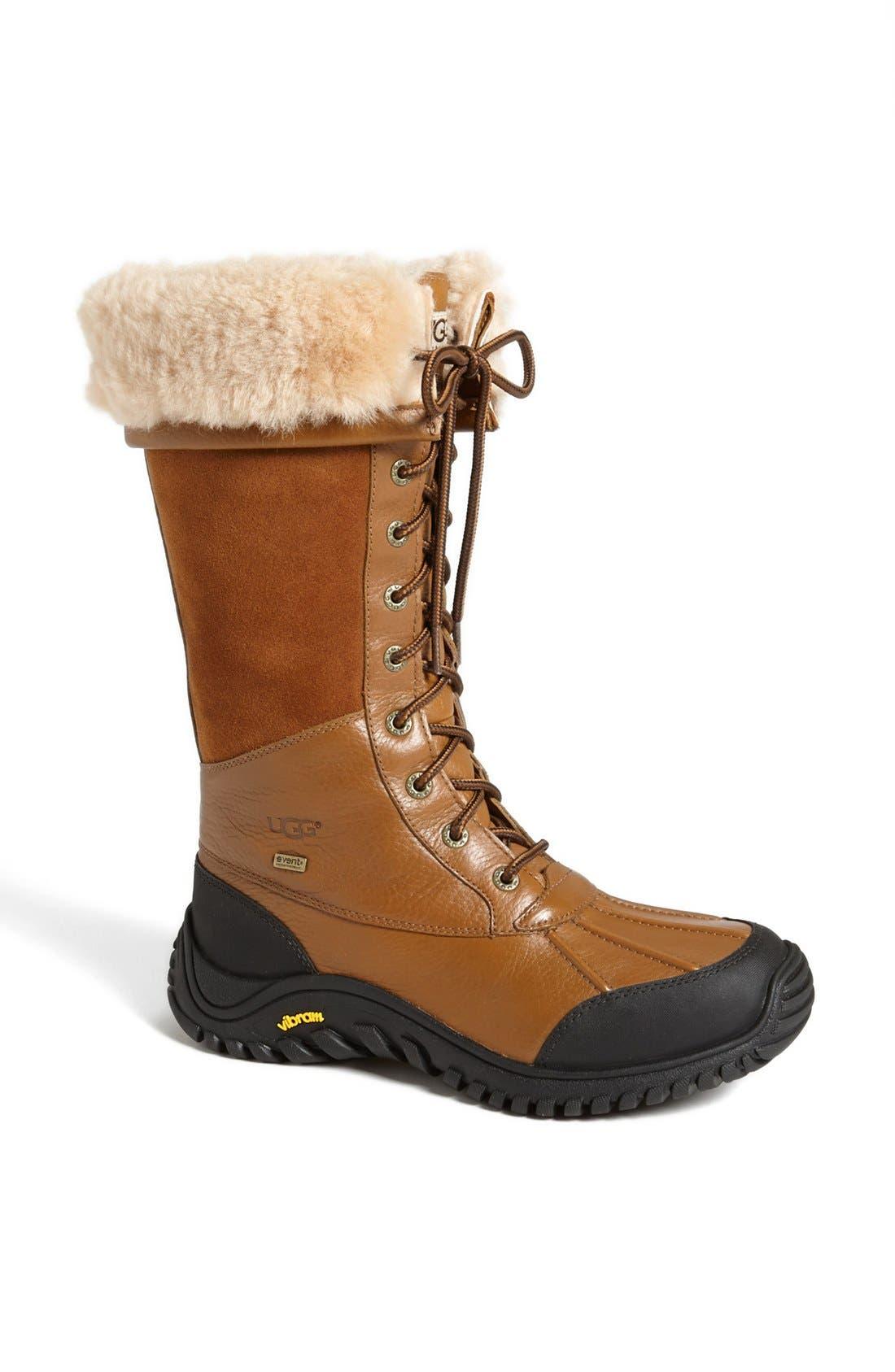 Alternate Image 1 Selected - UGG® Adirondack Waterproof Tall Boot (Women)