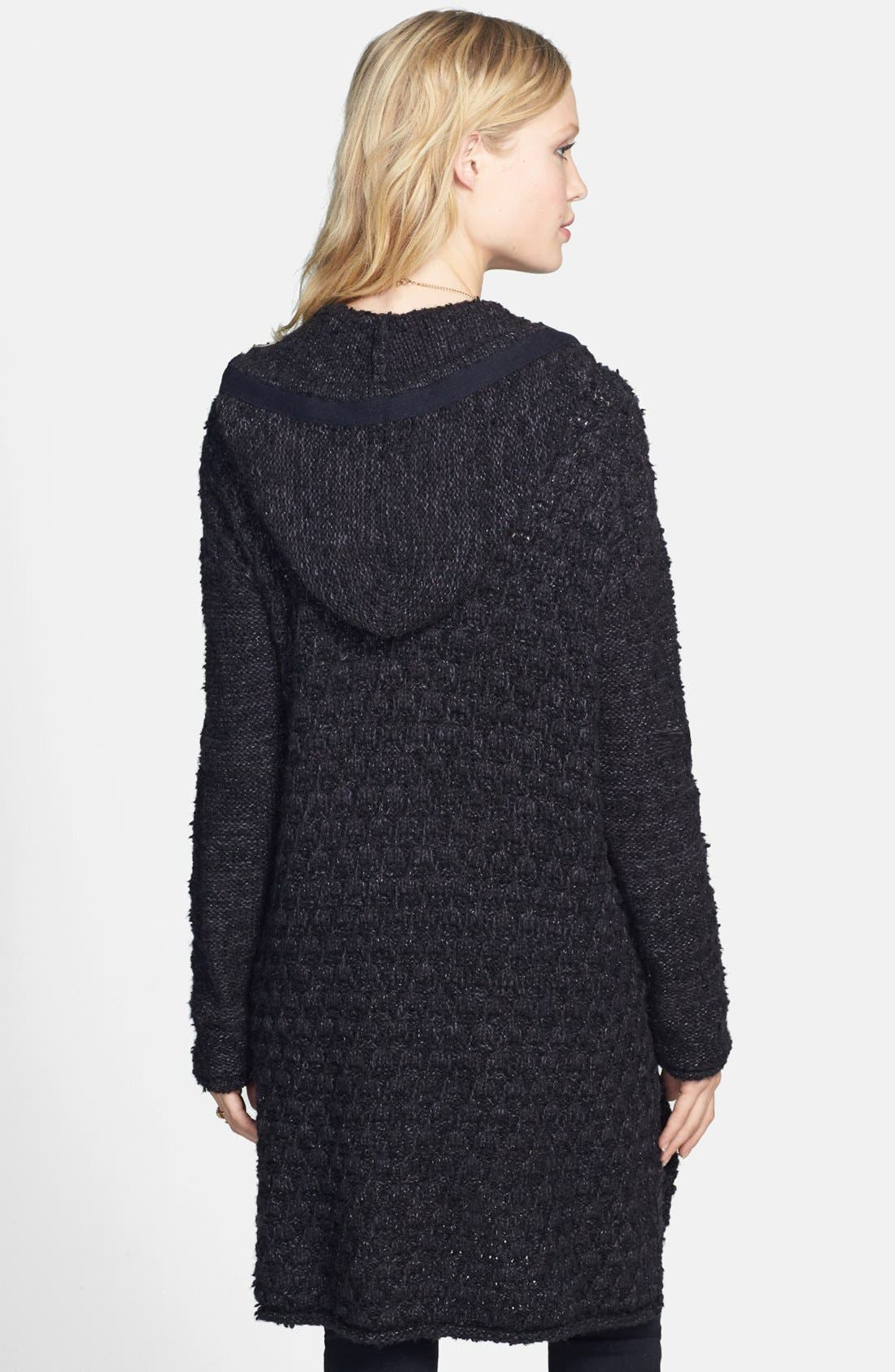 Alternate Image 2  - Free People Knit Toggle Coat