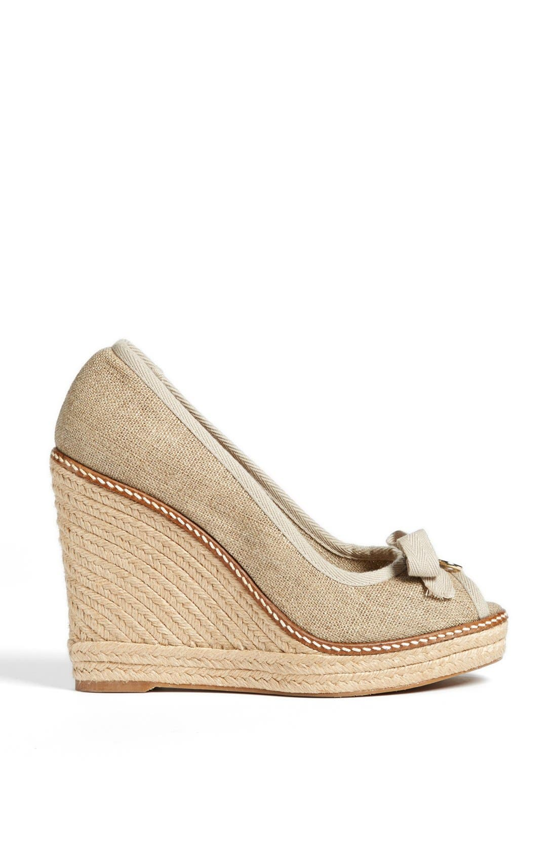 Alternate Image 4  - Tory Burch 'Jackie' Espadrille Wedge