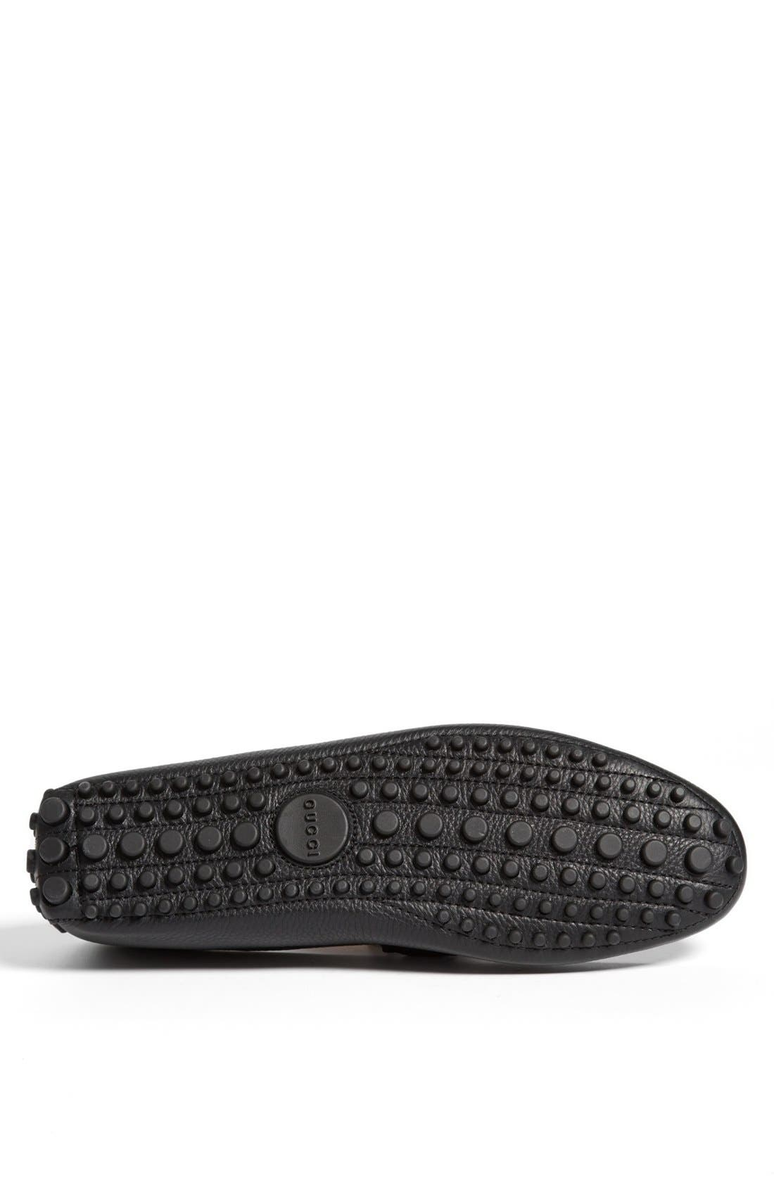 Alternate Image 4  - Gucci 'Damo' Driving Shoe (Men)