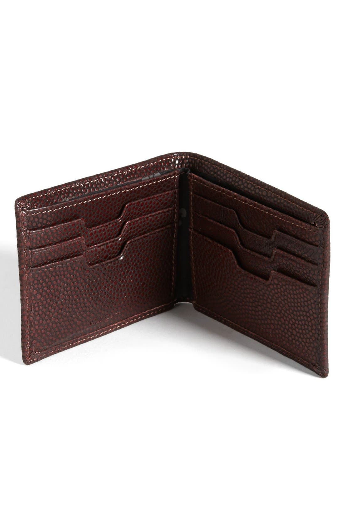 Alternate Image 2  - John Varvatos Collection Pebbled Leather Wallet