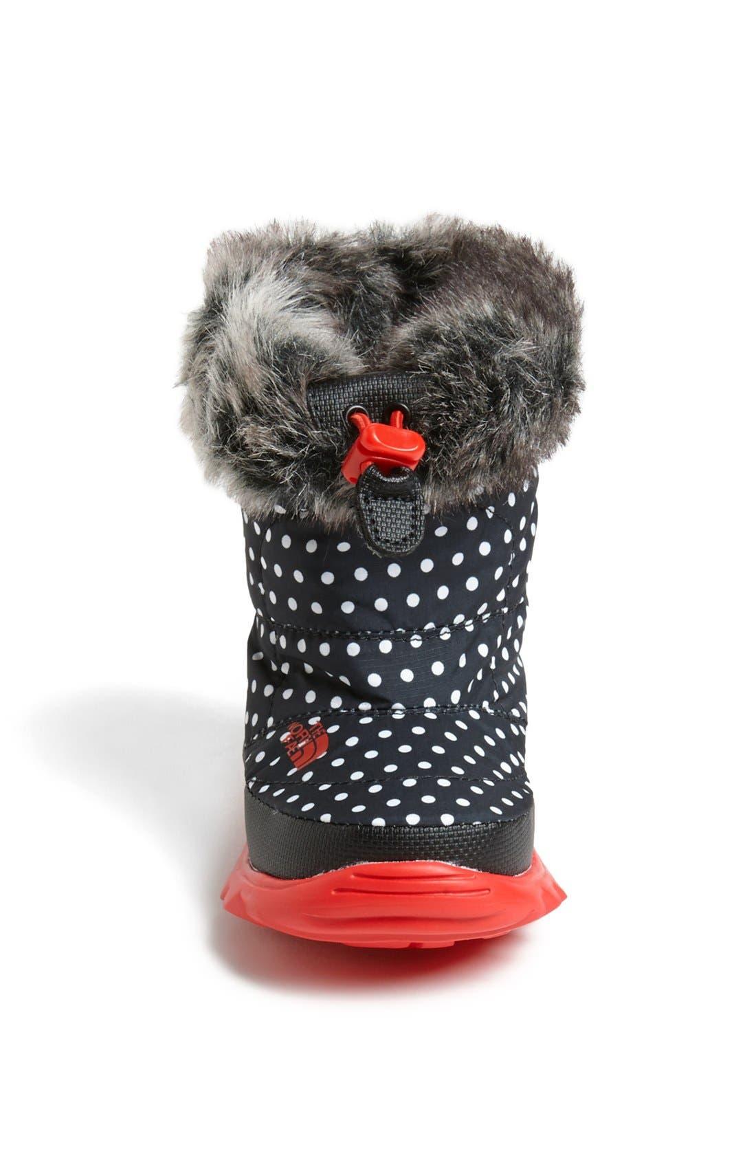 Alternate Image 3  - The North Face 'Nuptse Fur II' Winter Boot (Walker & Toddler)