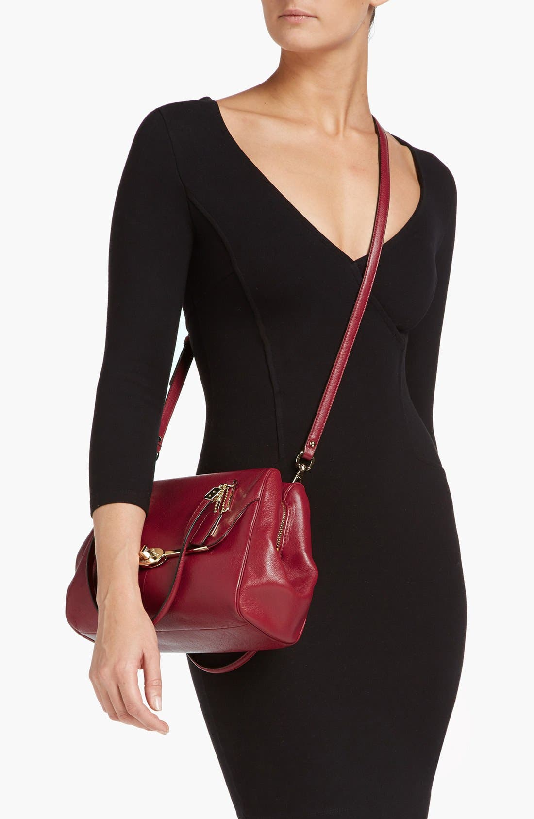 Alternate Image 4  - COACH 'Madison' Leather Crossbody Bag