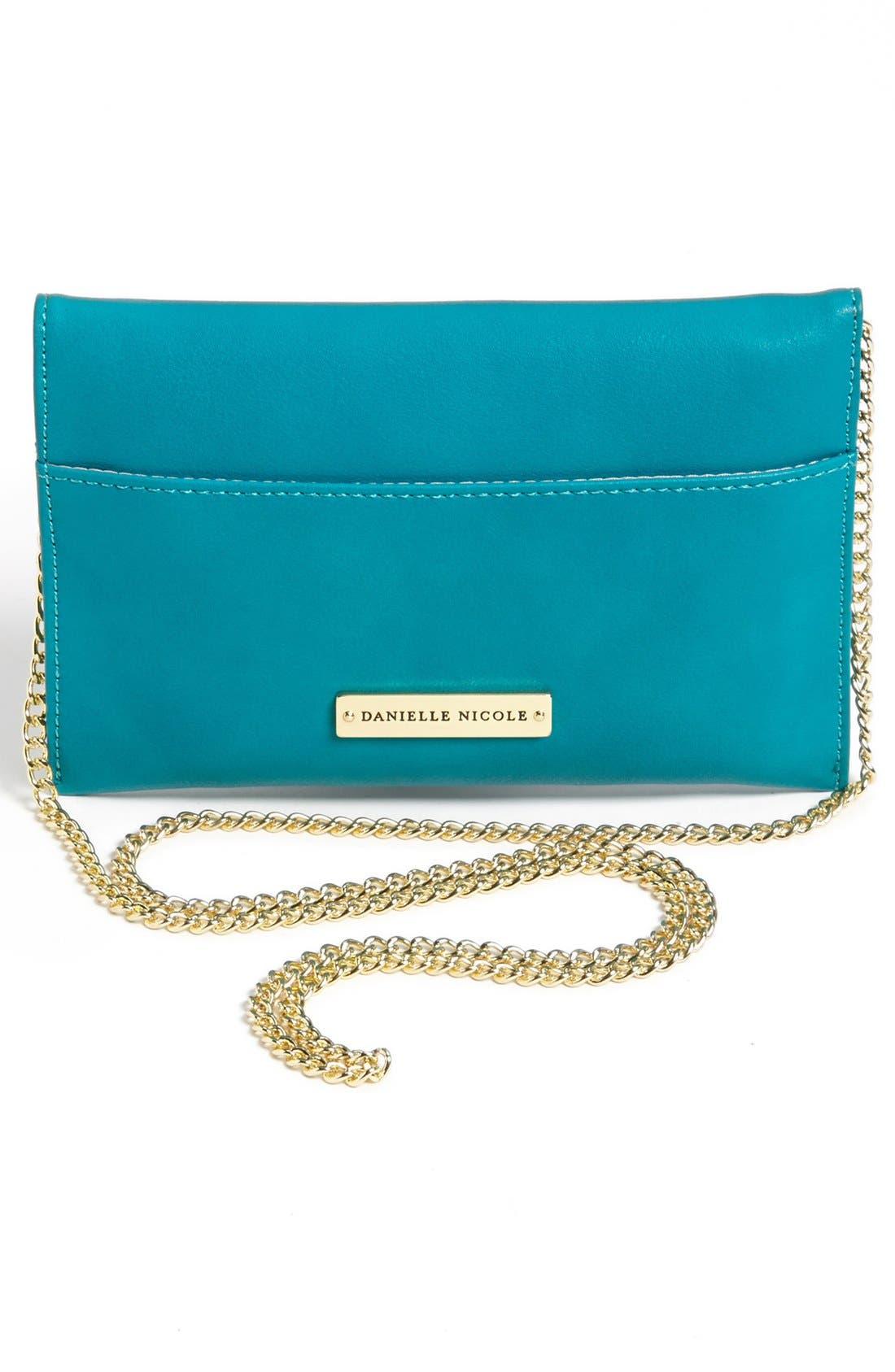 Alternate Image 4  - Danielle Nicole 'Tina' Faux Leather Crossbody Pouch