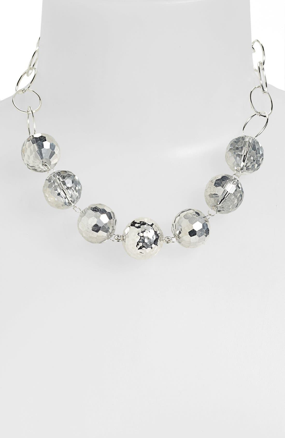Alternate Image 1 Selected - Simon Sebbag Quartz Chain Collar Necklace
