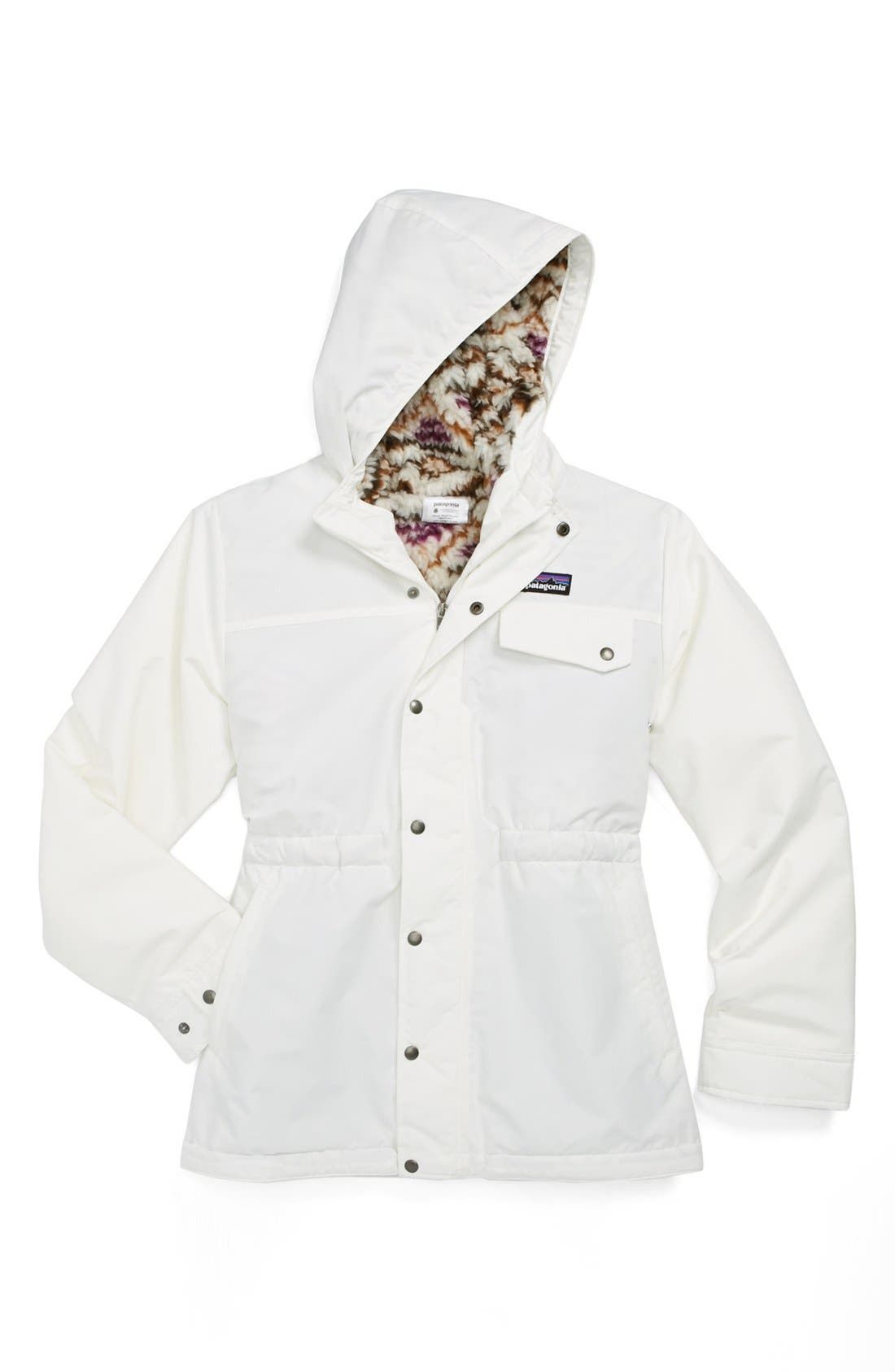 Alternate Image 1 Selected - Patagonia 'Infurno' Jacket (Little Girls & Big Girls)