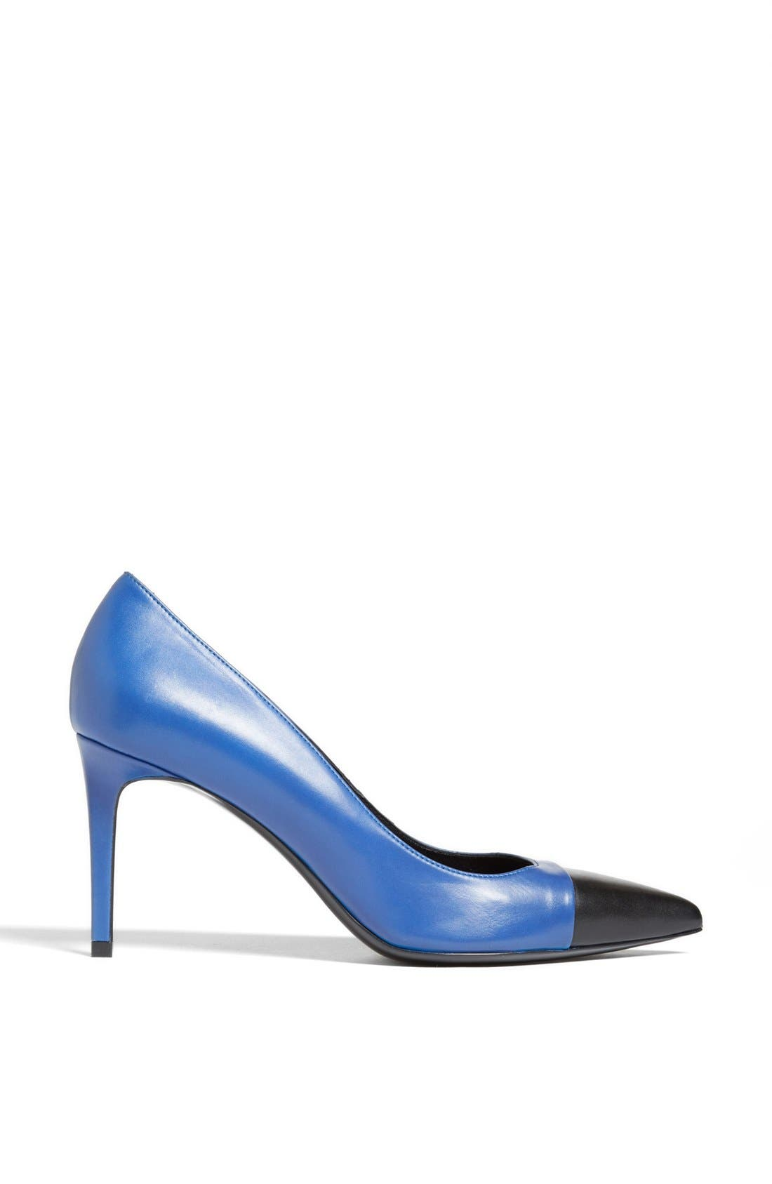 Alternate Image 4  - Saint Laurent 'Paris' Pointy Toe Pump