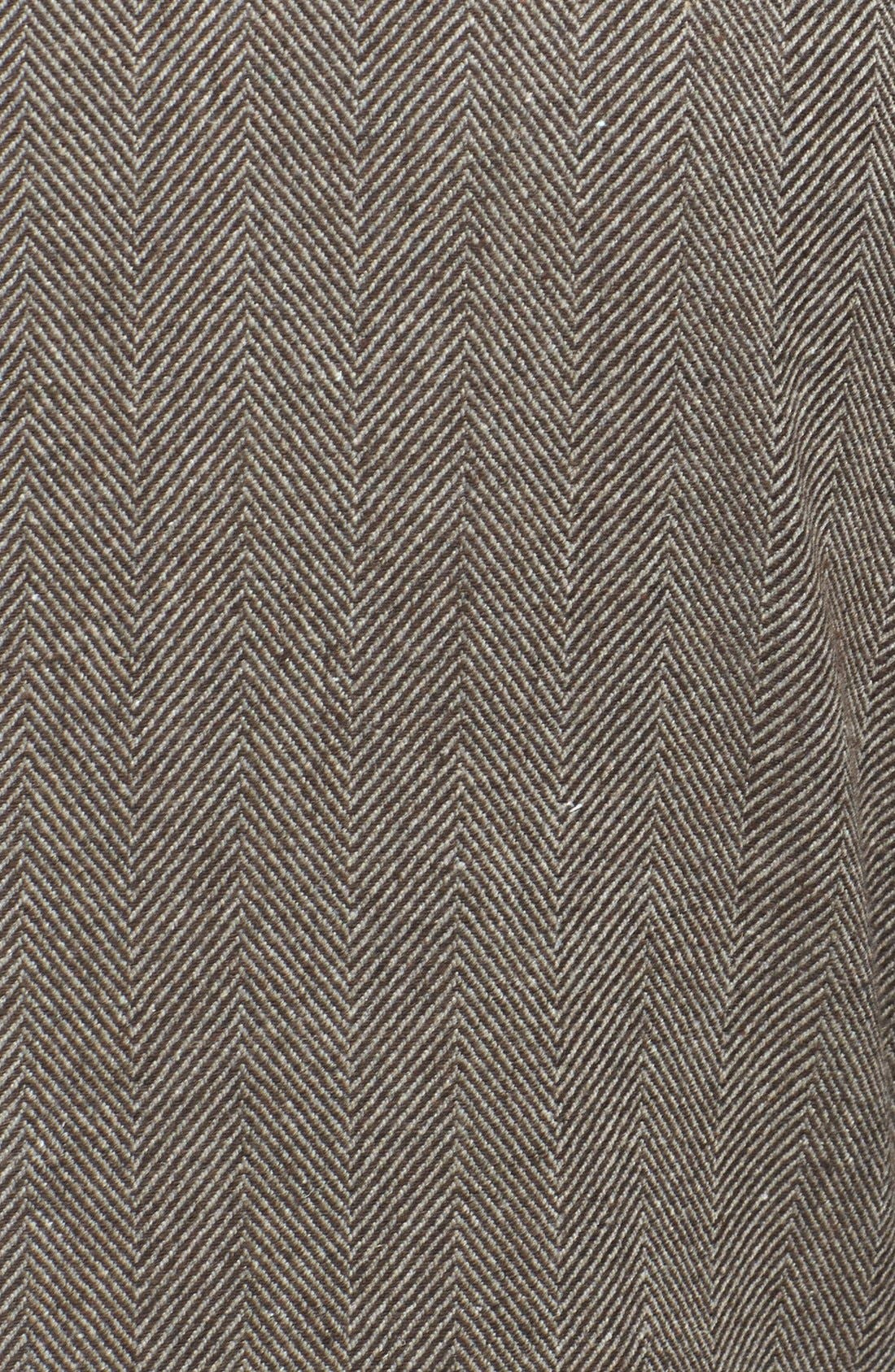 Alternate Image 3  - Kane & Unke Herringbone Jacket