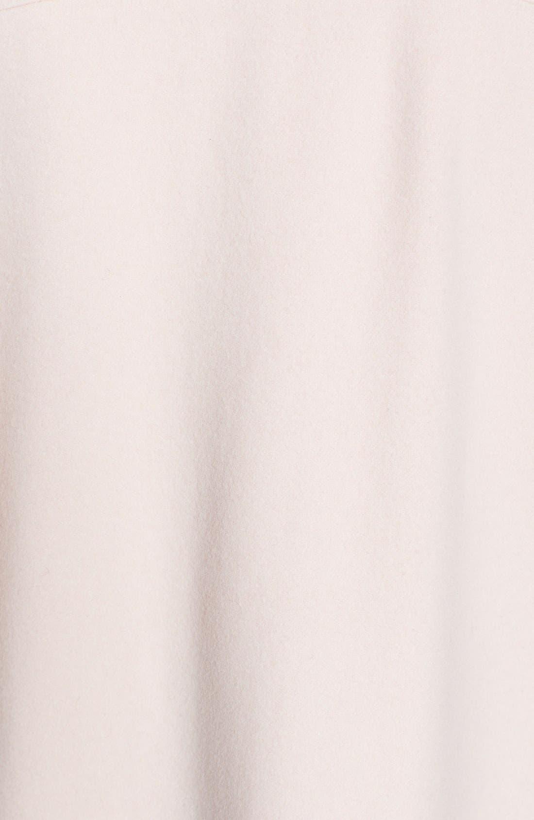 Alternate Image 3  - Helene Berman Collarless Wool Blend Coat
