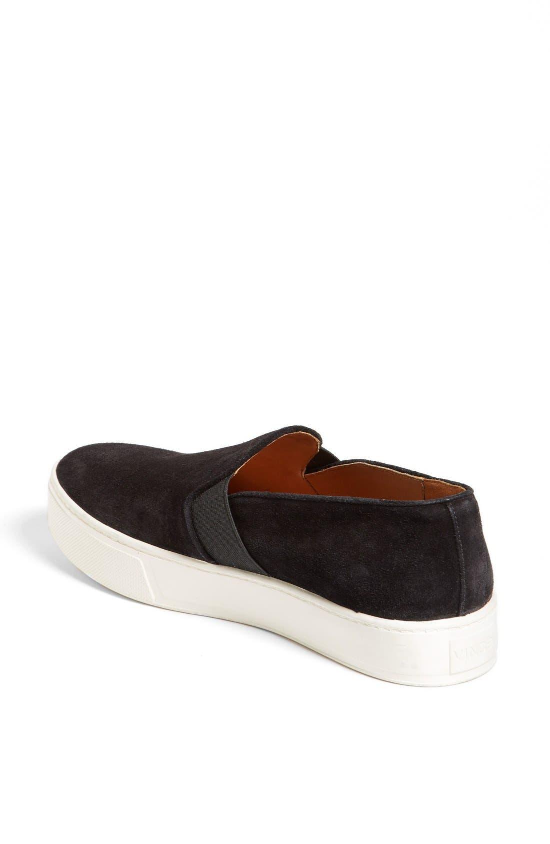 'Blair 3' Sneaker,                             Alternate thumbnail 2, color,                             Black