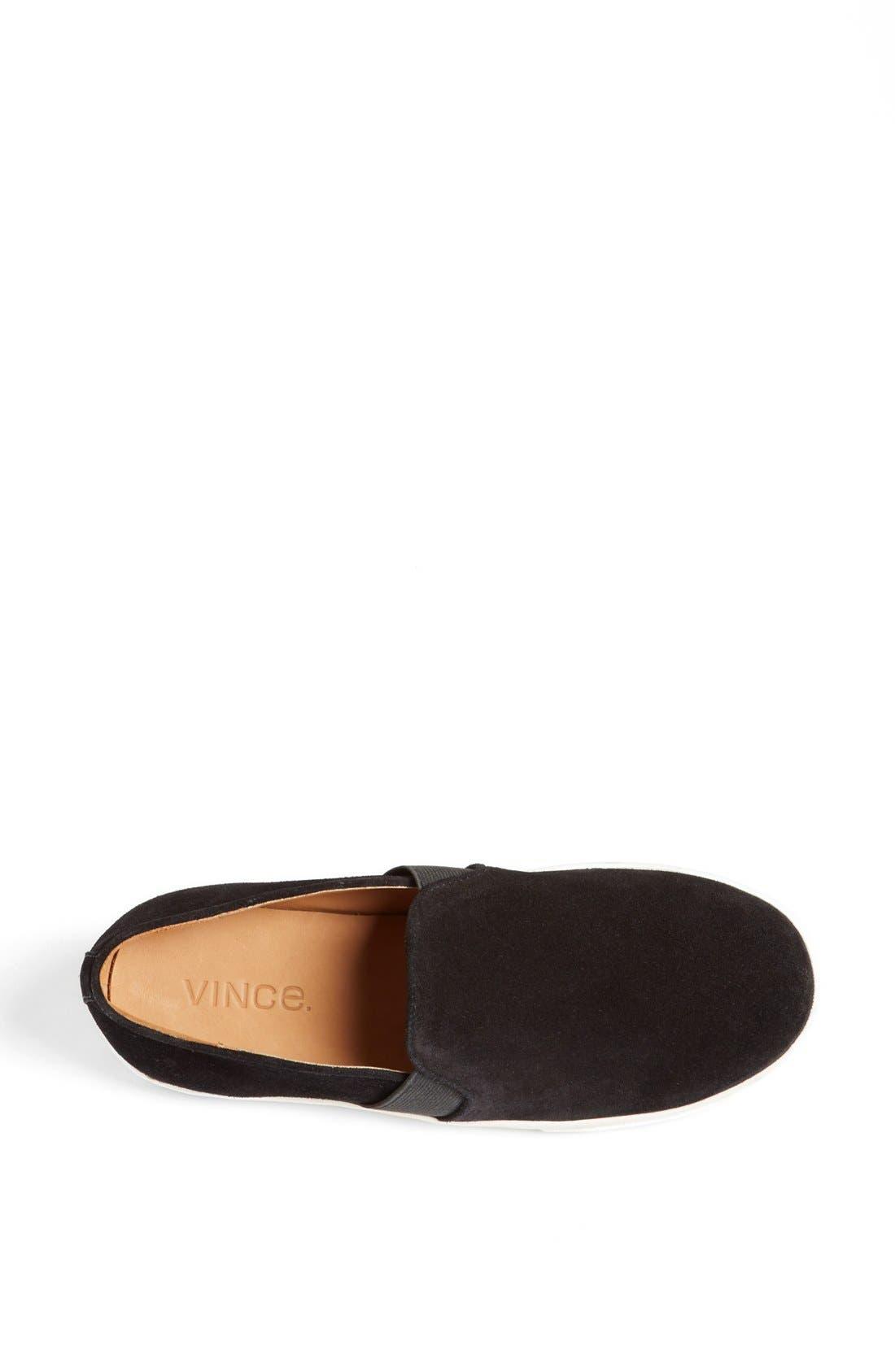 'Blair 3' Sneaker,                             Alternate thumbnail 3, color,                             Black