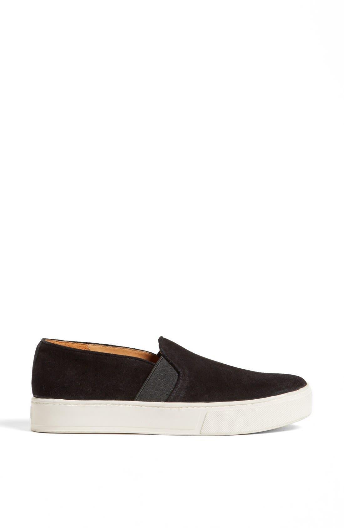 'Blair 3' Sneaker,                             Alternate thumbnail 4, color,                             Black