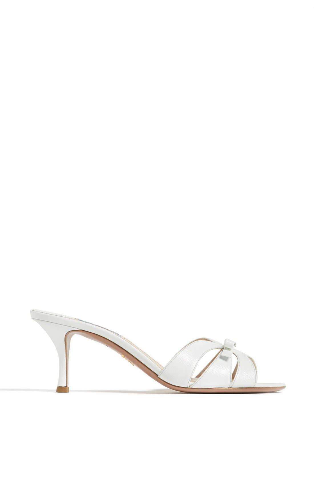 Alternate Image 4  - Prada Bow Slide Sandal