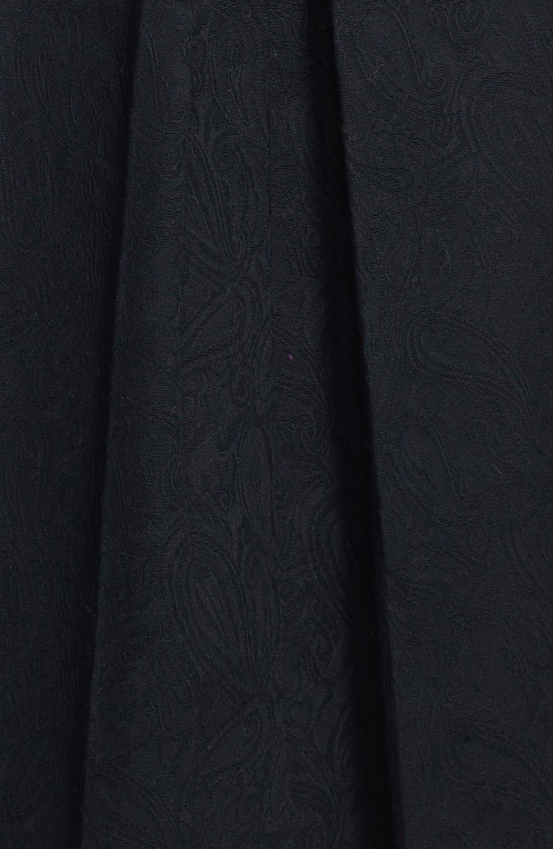 Alternate Image 3  - Tildon Pleated Jacquard Midi Skirt