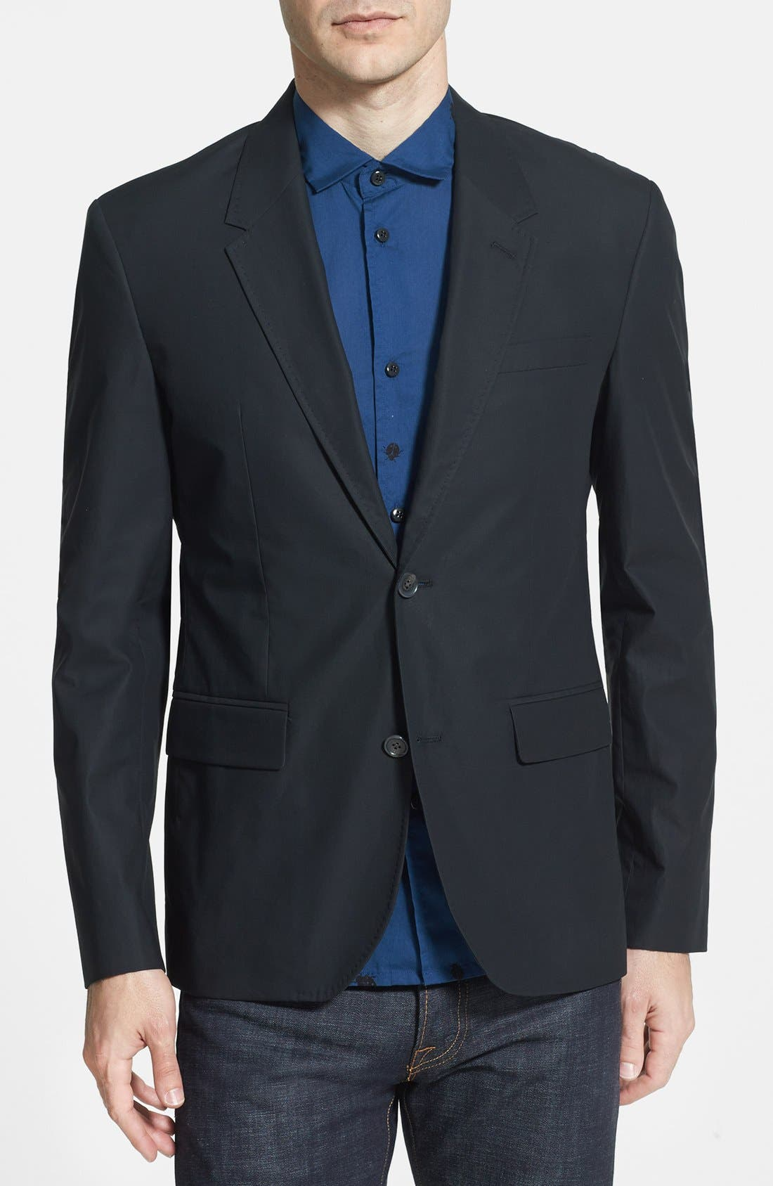 Alternate Image 1 Selected - MARC BY MARC JACOBS 'Harvey' Cotton Sportcoat