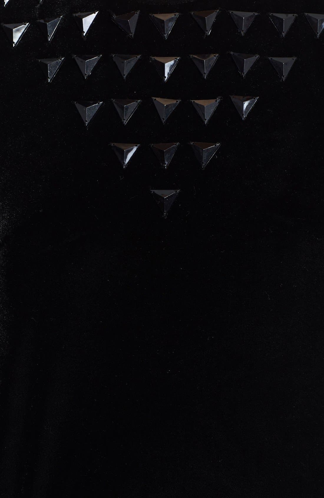 Alternate Image 3  - Leith Studded Velour Sweatshirt