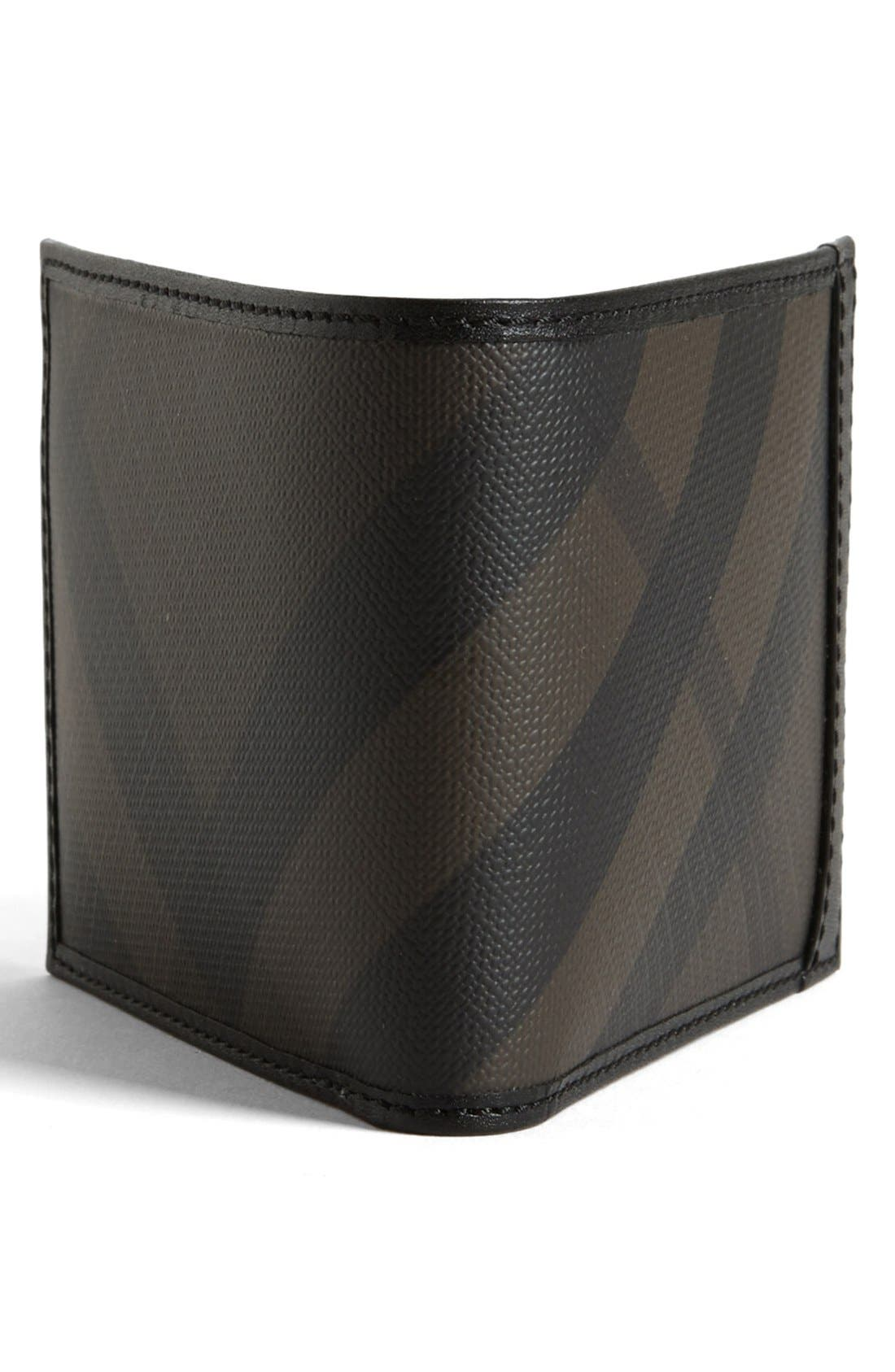 Alternate Image 3  - Burberry Check Print Wallet