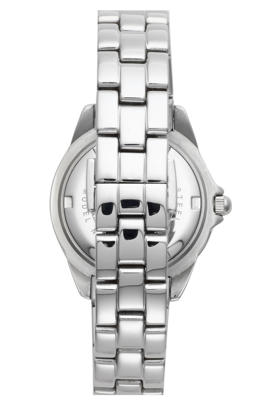 Alternate Image 5  - Folli Follie 'Daydream' Crystal Bezel Bracelet Watch, 29mm