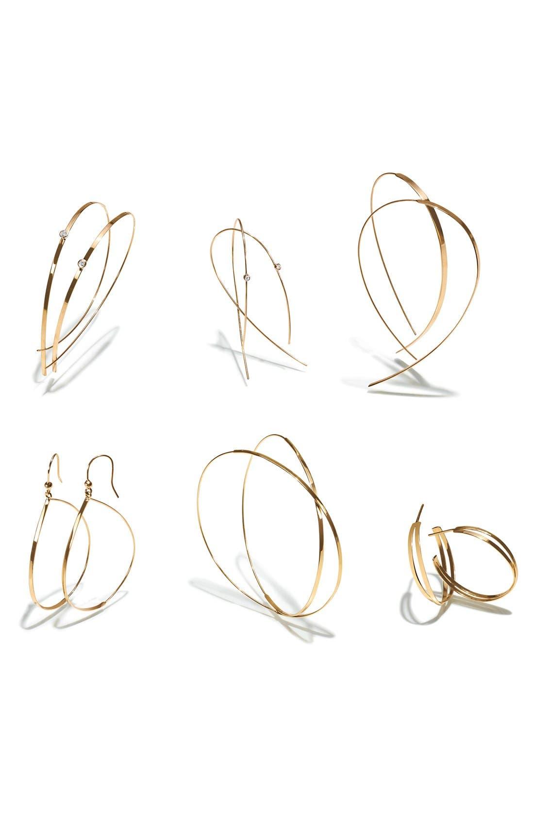 Alternate Image 2  - Lana Jewelry 'White Night' Hoop Earrings