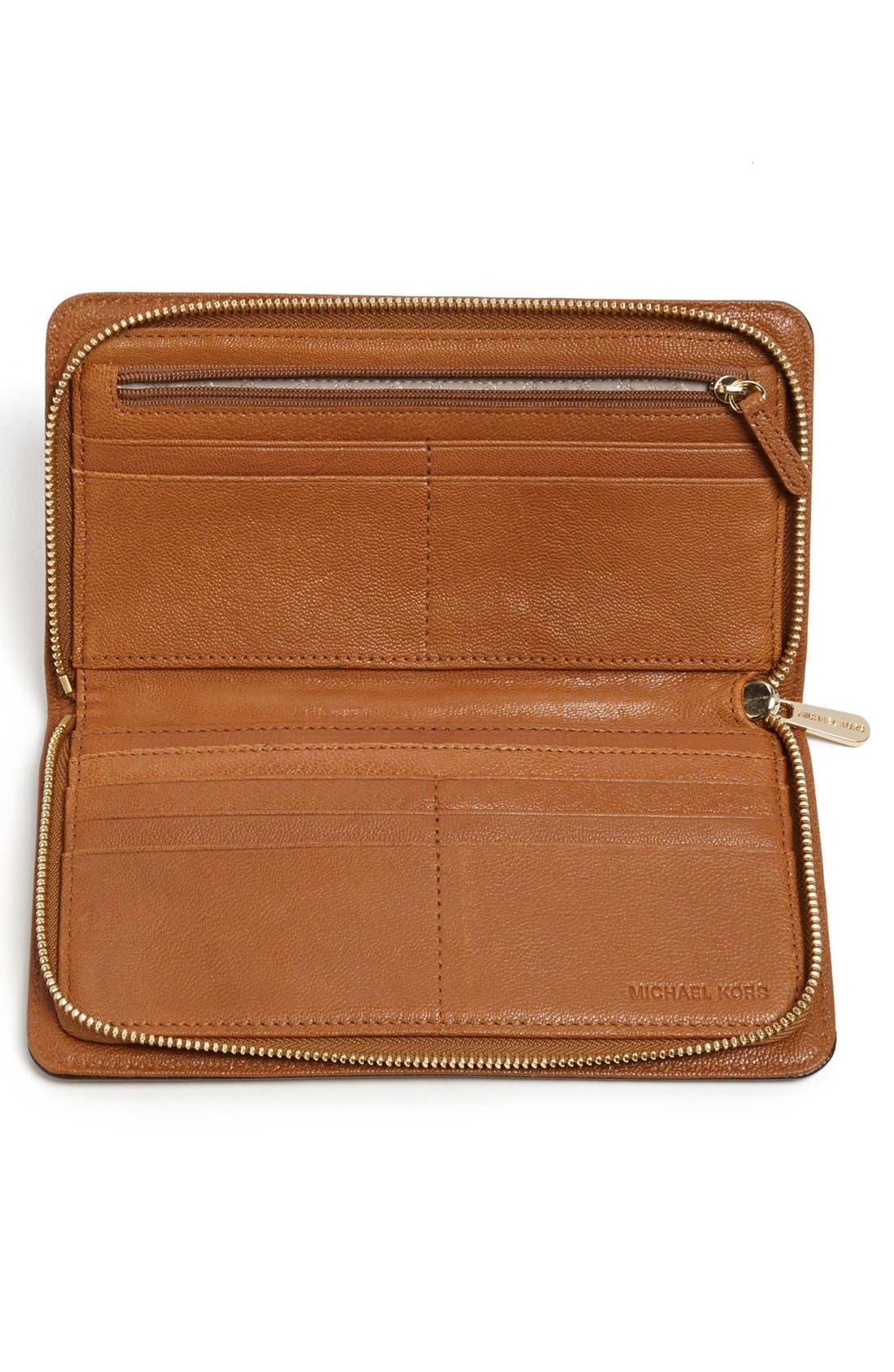 Alternate Image 2  - MICHAEL Michael Kors 'Hamilton - Large' Wallet